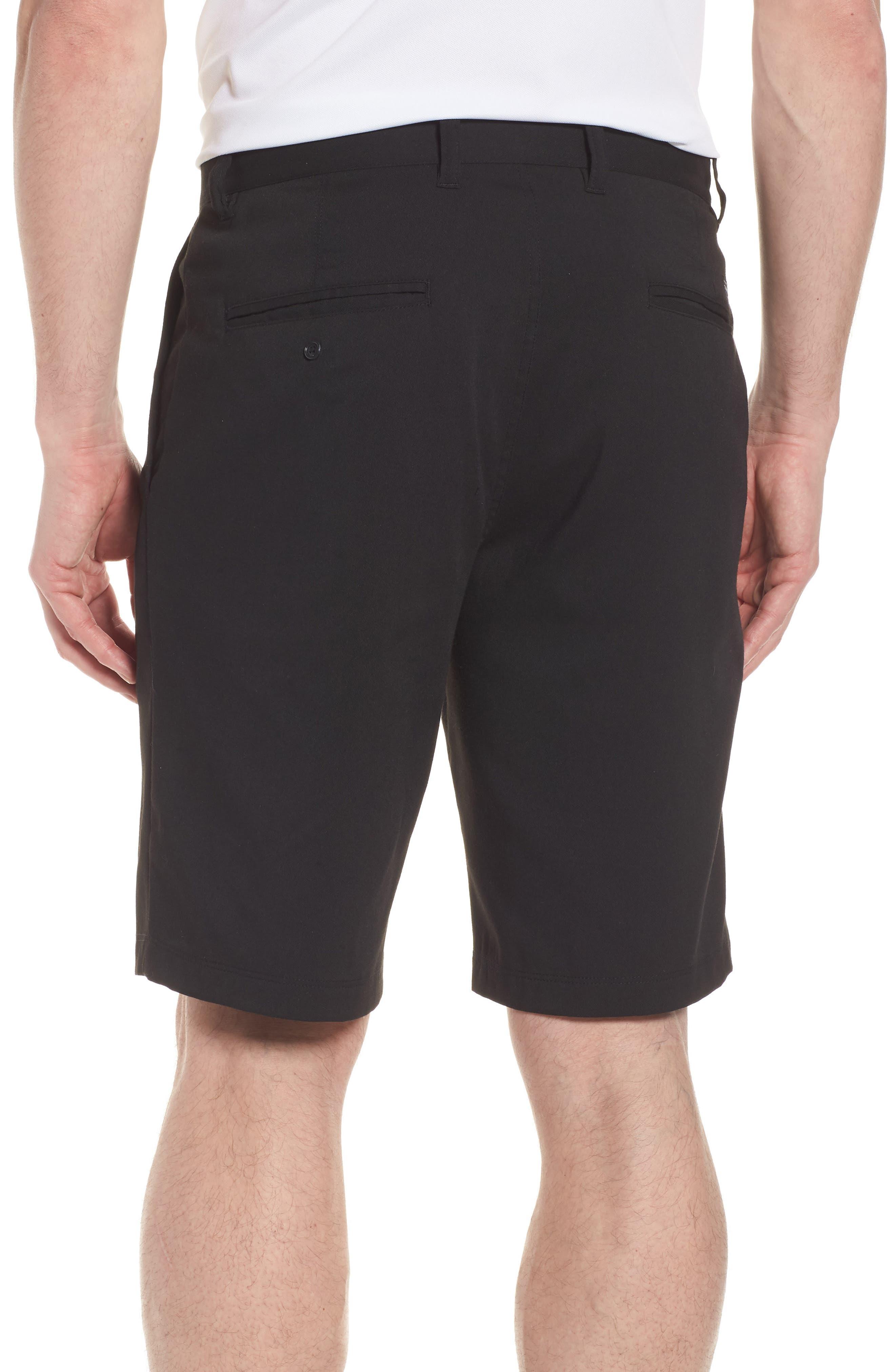 Puebla Stretch Shorts,                             Alternate thumbnail 2, color,                             Black
