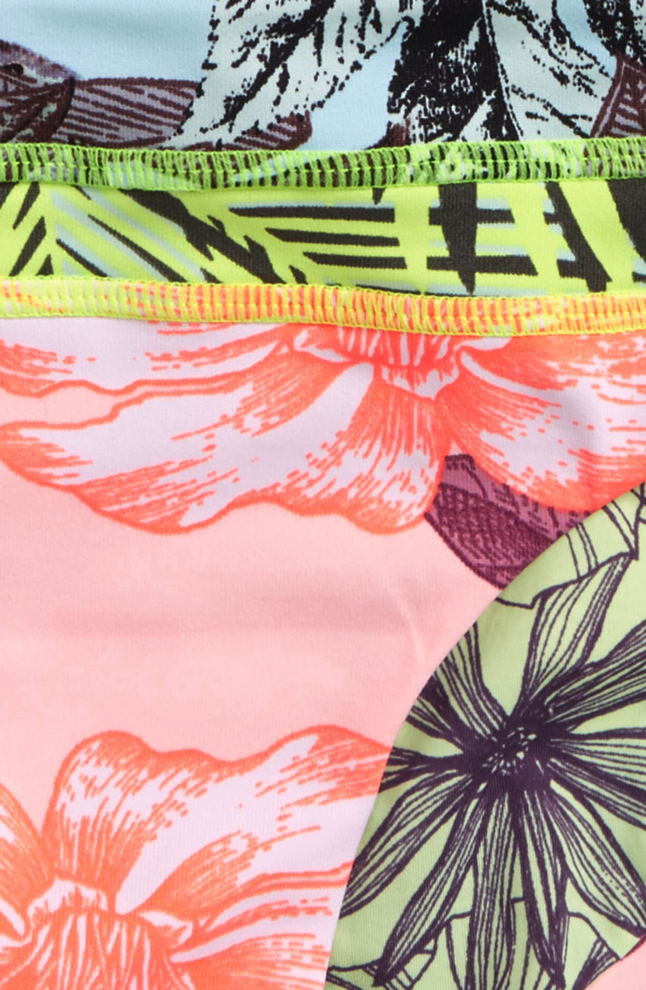 Cacti Hotel Reversible Two-Piece Swimsuit,                             Alternate thumbnail 3, color,                             Pink