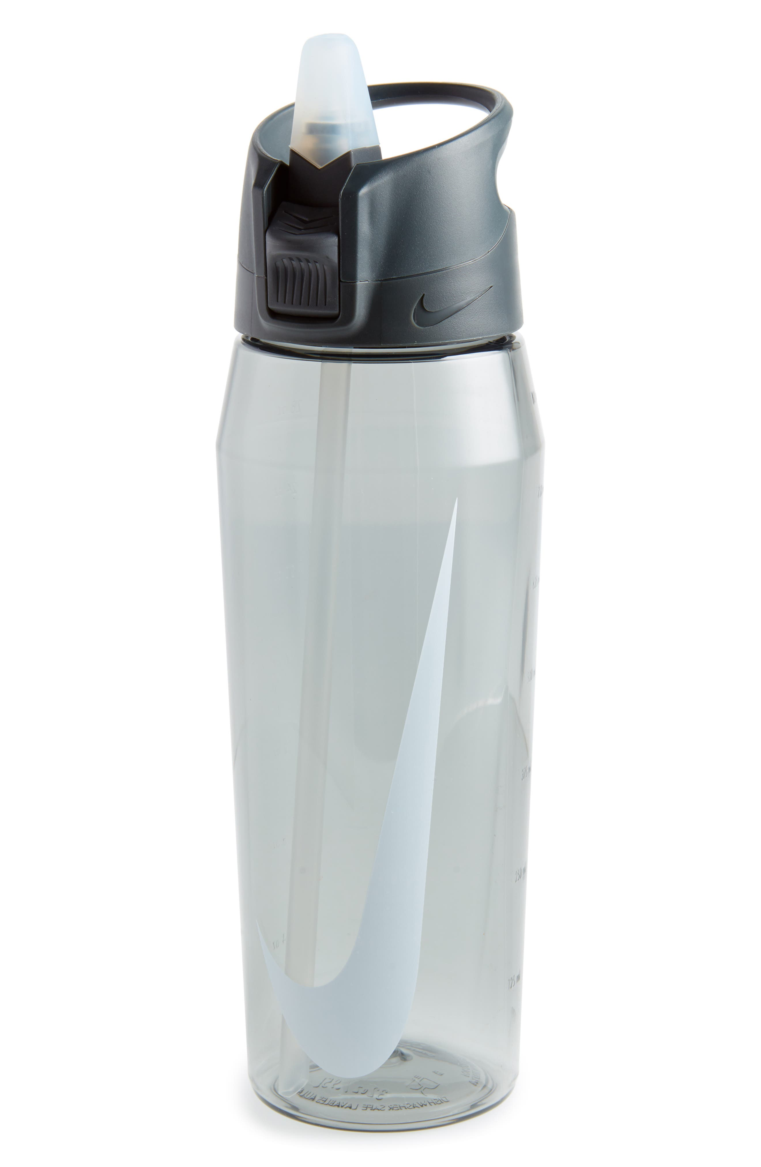 Hypercharge 32 oz. Water Bottle,                             Main thumbnail 1, color,                             Anthracite/ Cool Grey/ White