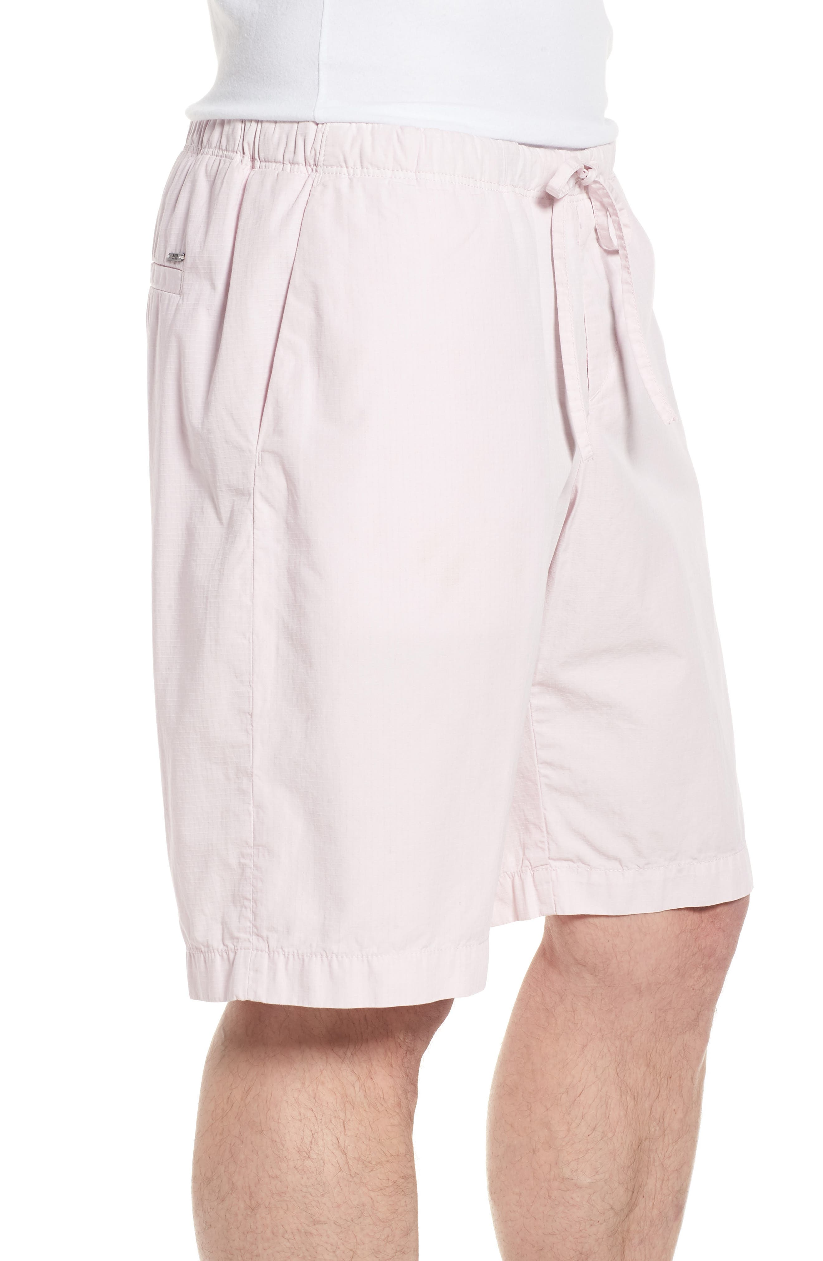 Passeo Cotton Shorts,                             Alternate thumbnail 3, color,                             Pink