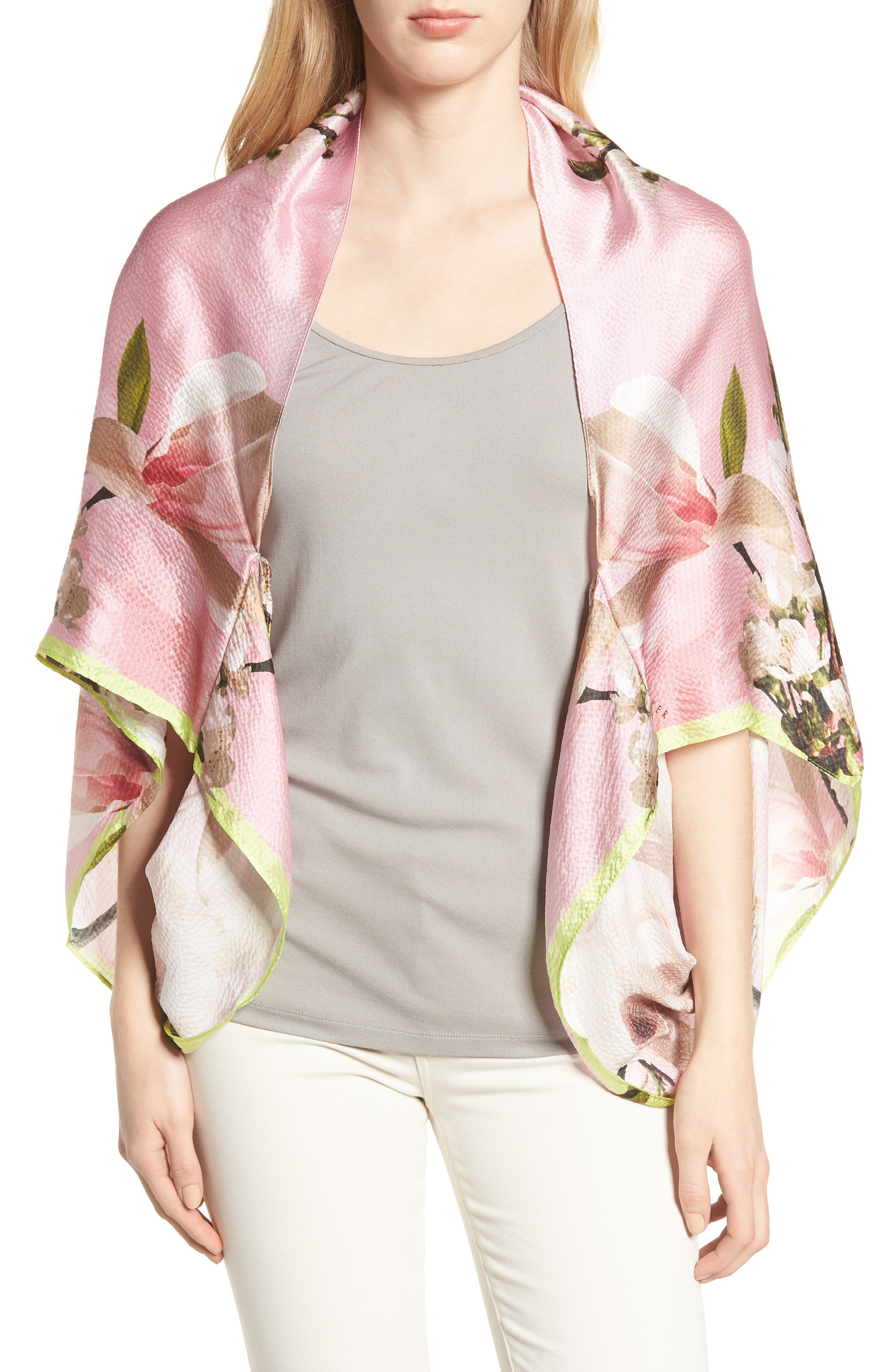Harmony Cape,                         Main,                         color, Pale Pink