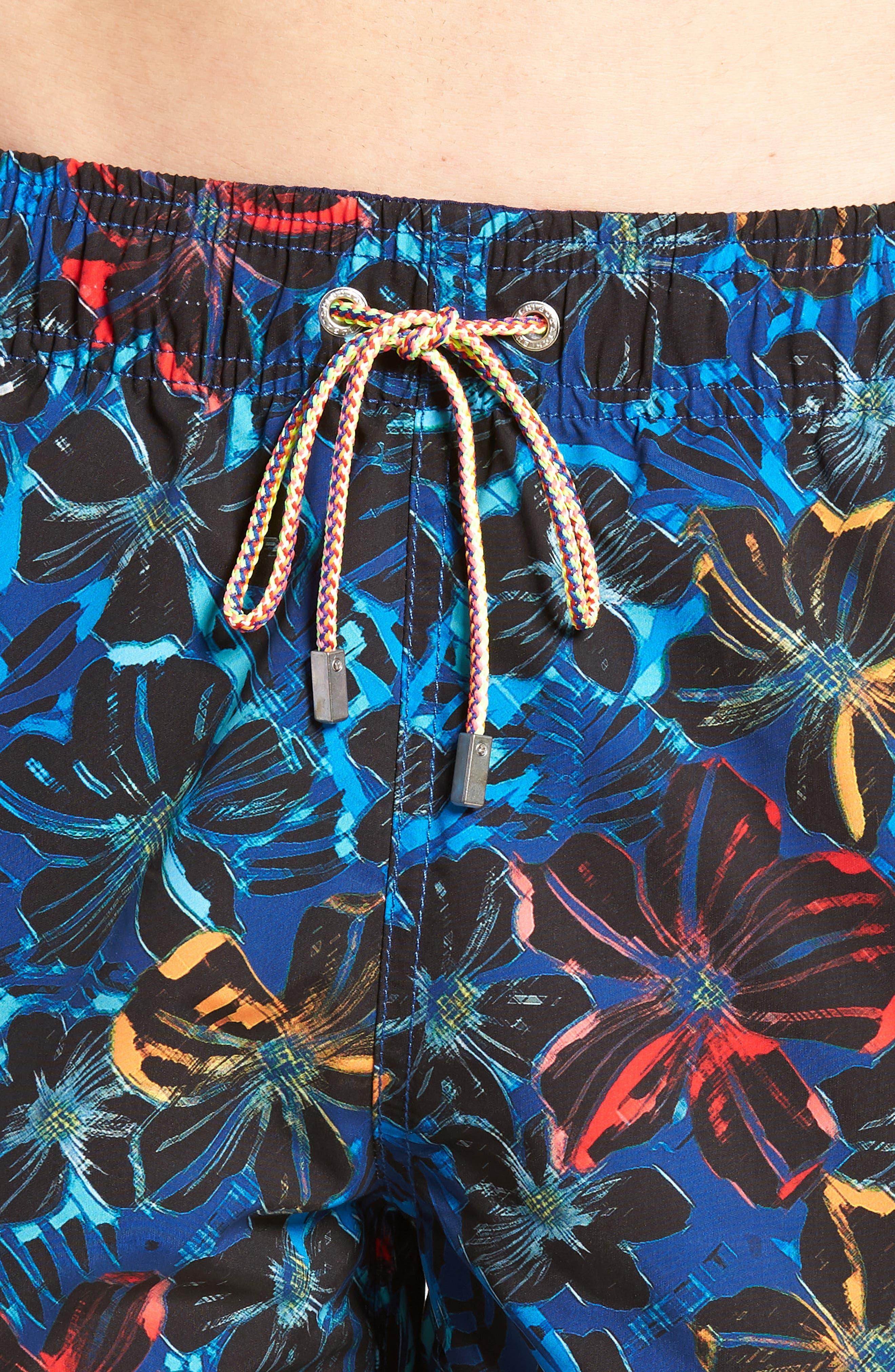 Swim Trunks,                             Alternate thumbnail 4, color,                             Midnight