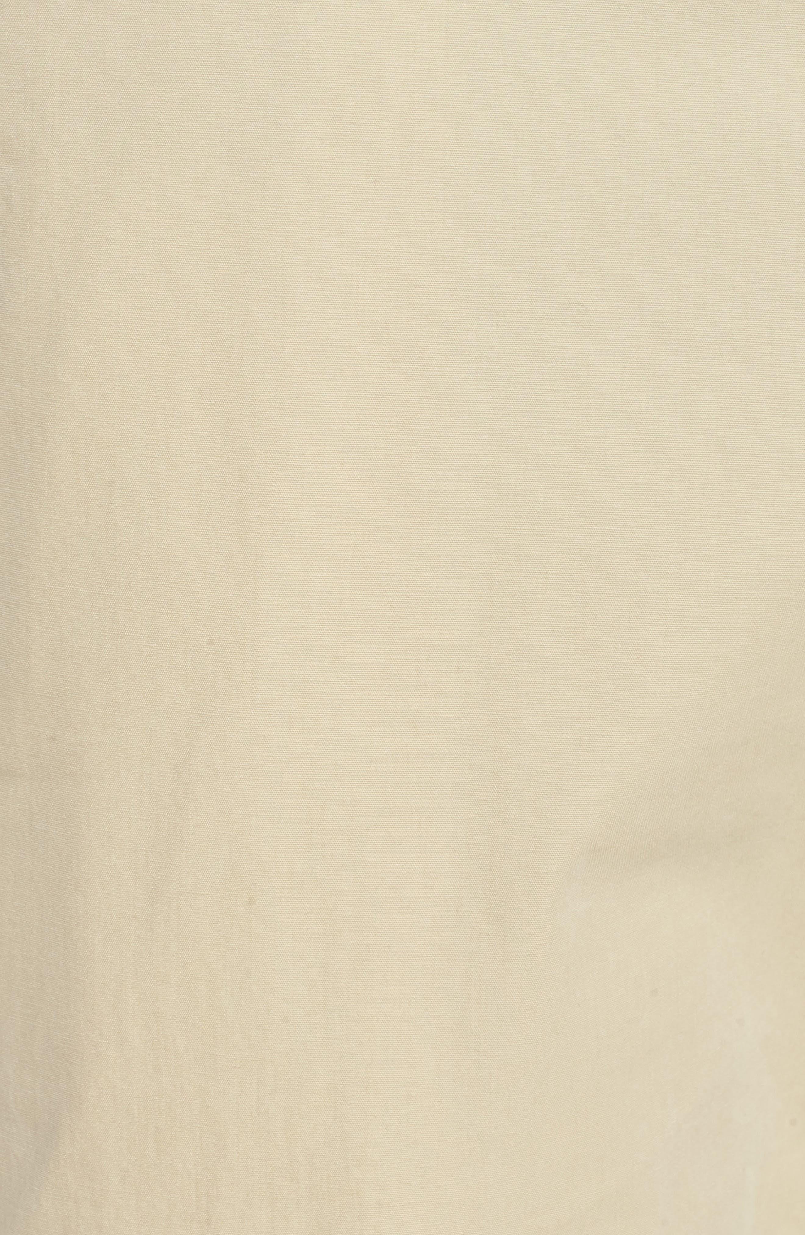 M2 Classic Fit Flat Front Tropical Cotton Poplin Pants,                             Alternate thumbnail 5, color,                             Khaki