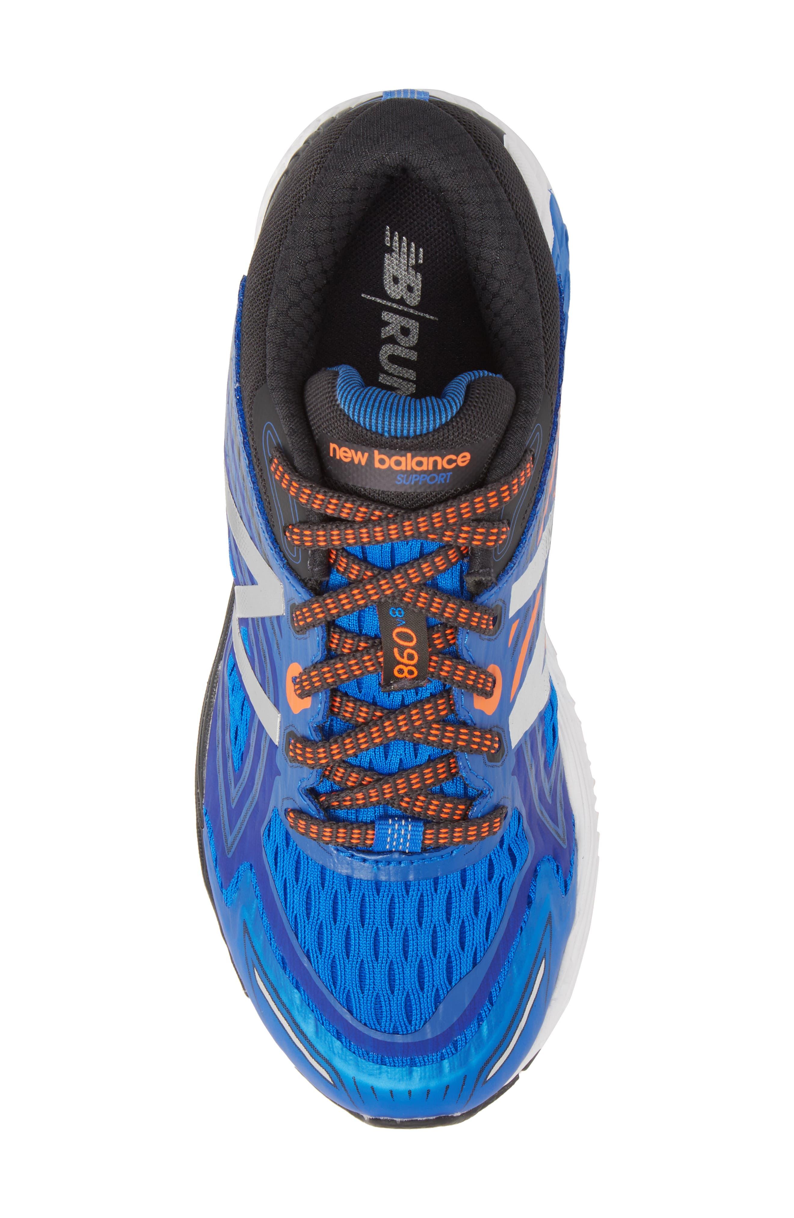860v8 Sneaker,                             Alternate thumbnail 5, color,                             Navy/ Grey