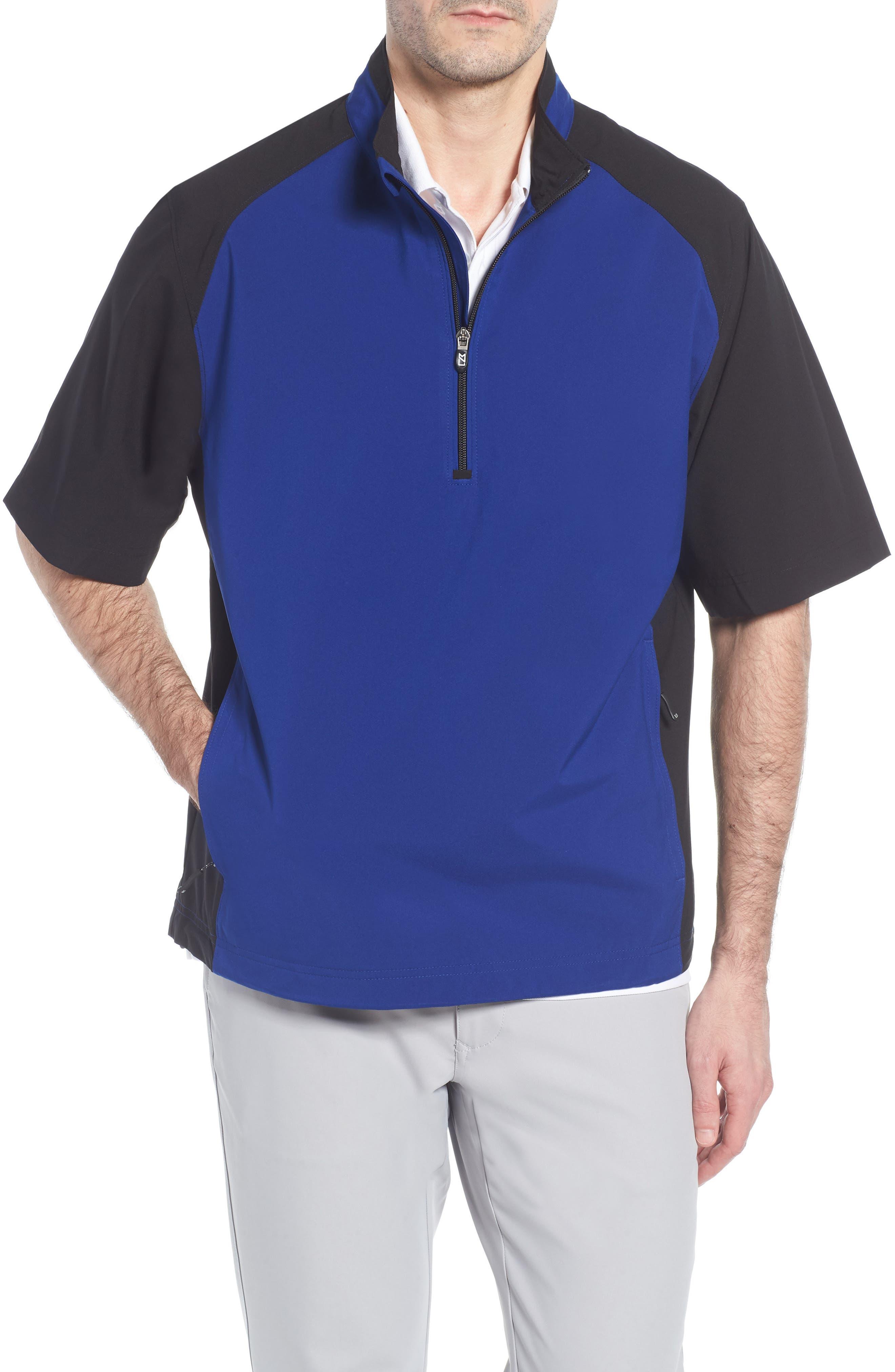 Alternate Image 1 Selected - Cutter & Buck 'WeatherTec Summit' Short Sleeve Shirt