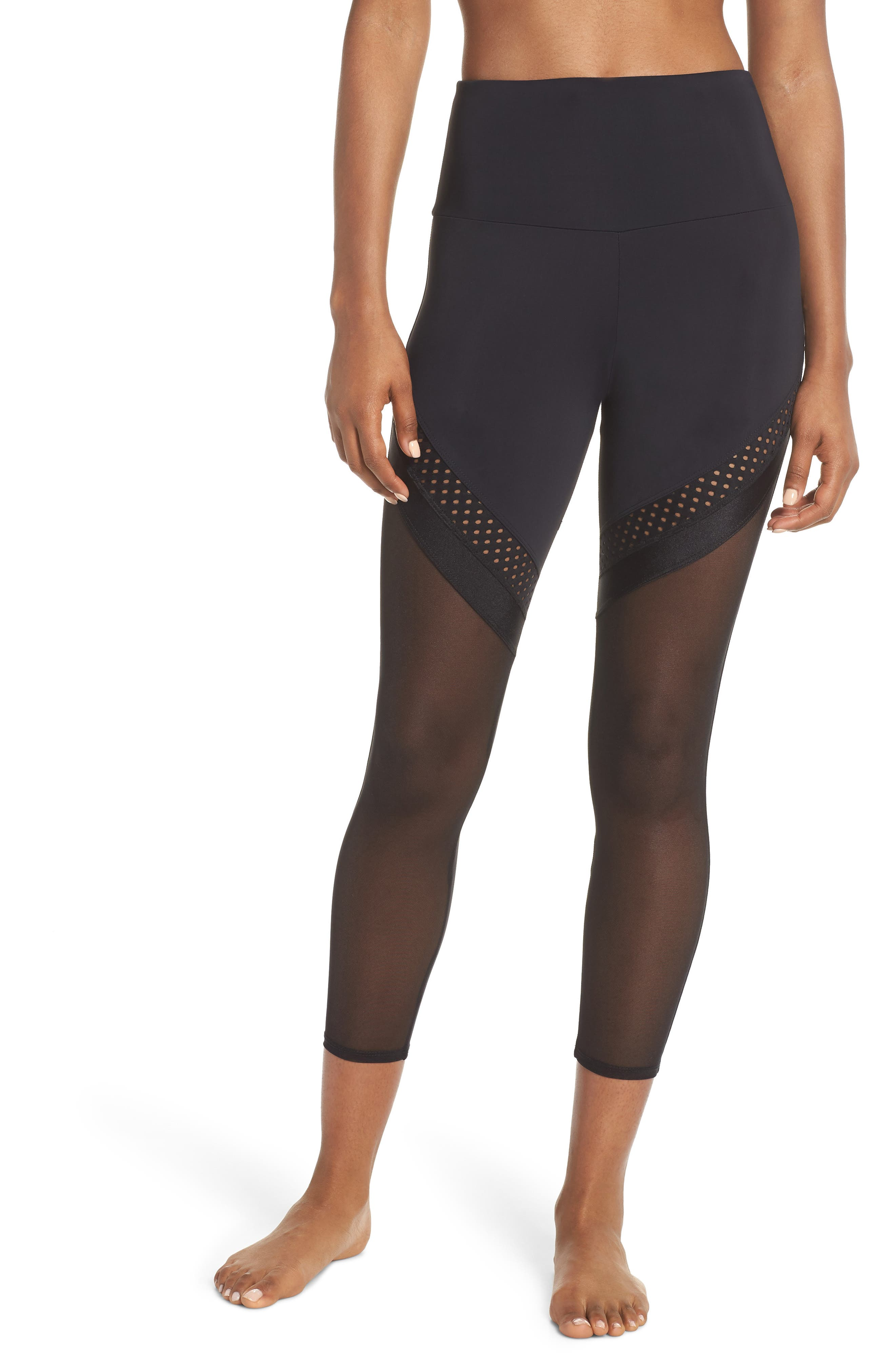 Chrome Leggings,                             Main thumbnail 1, color,                             Black