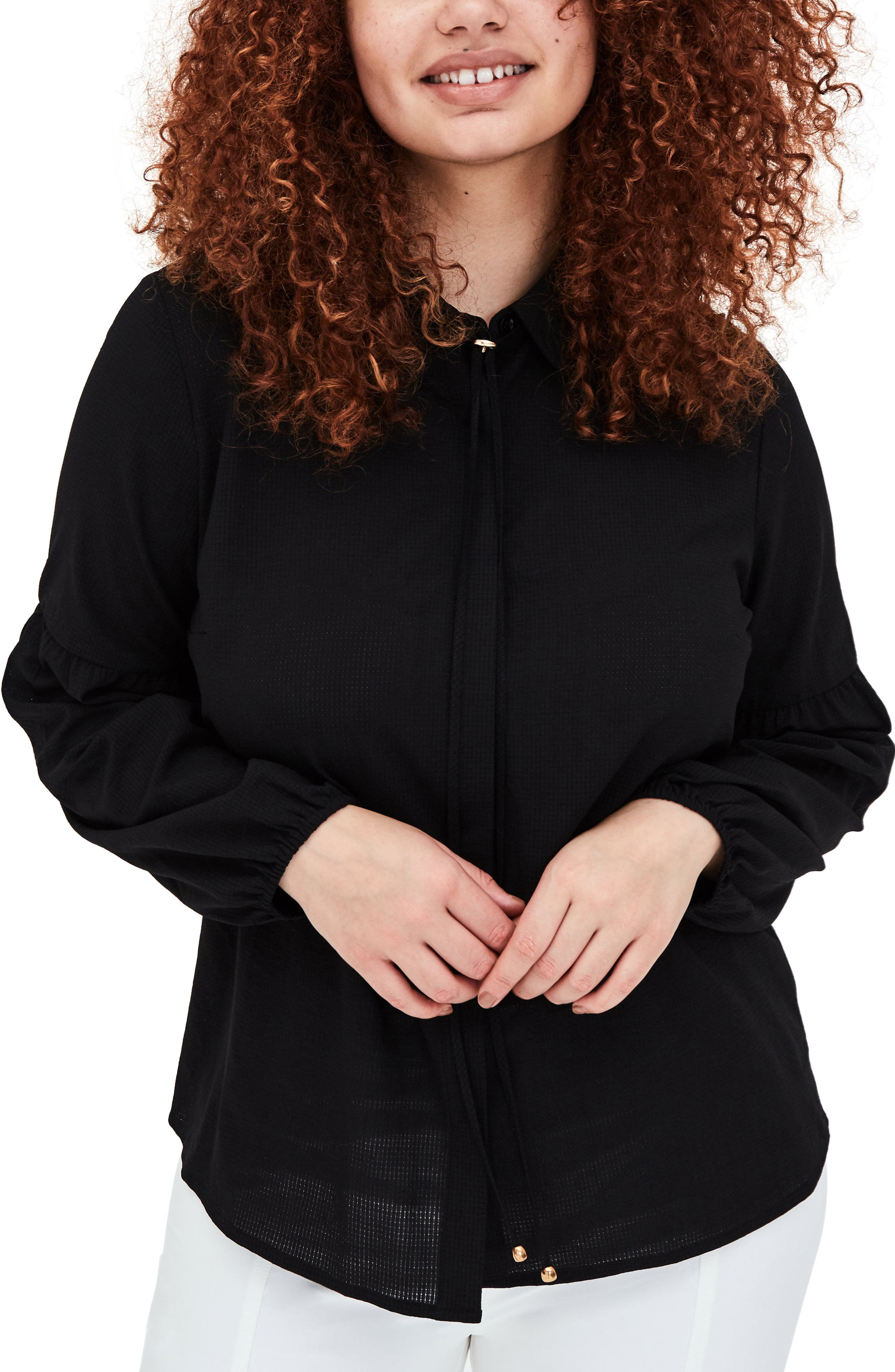 ELVI The Cait Shirt (Plus Size)