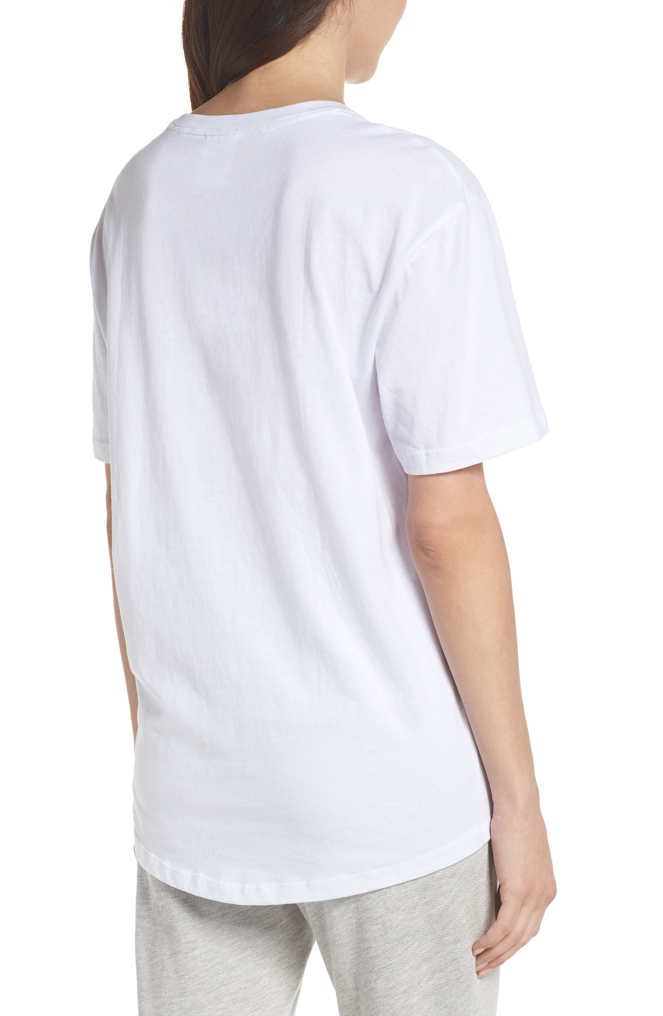 Graphic Tee,                             Alternate thumbnail 2, color,                             White
