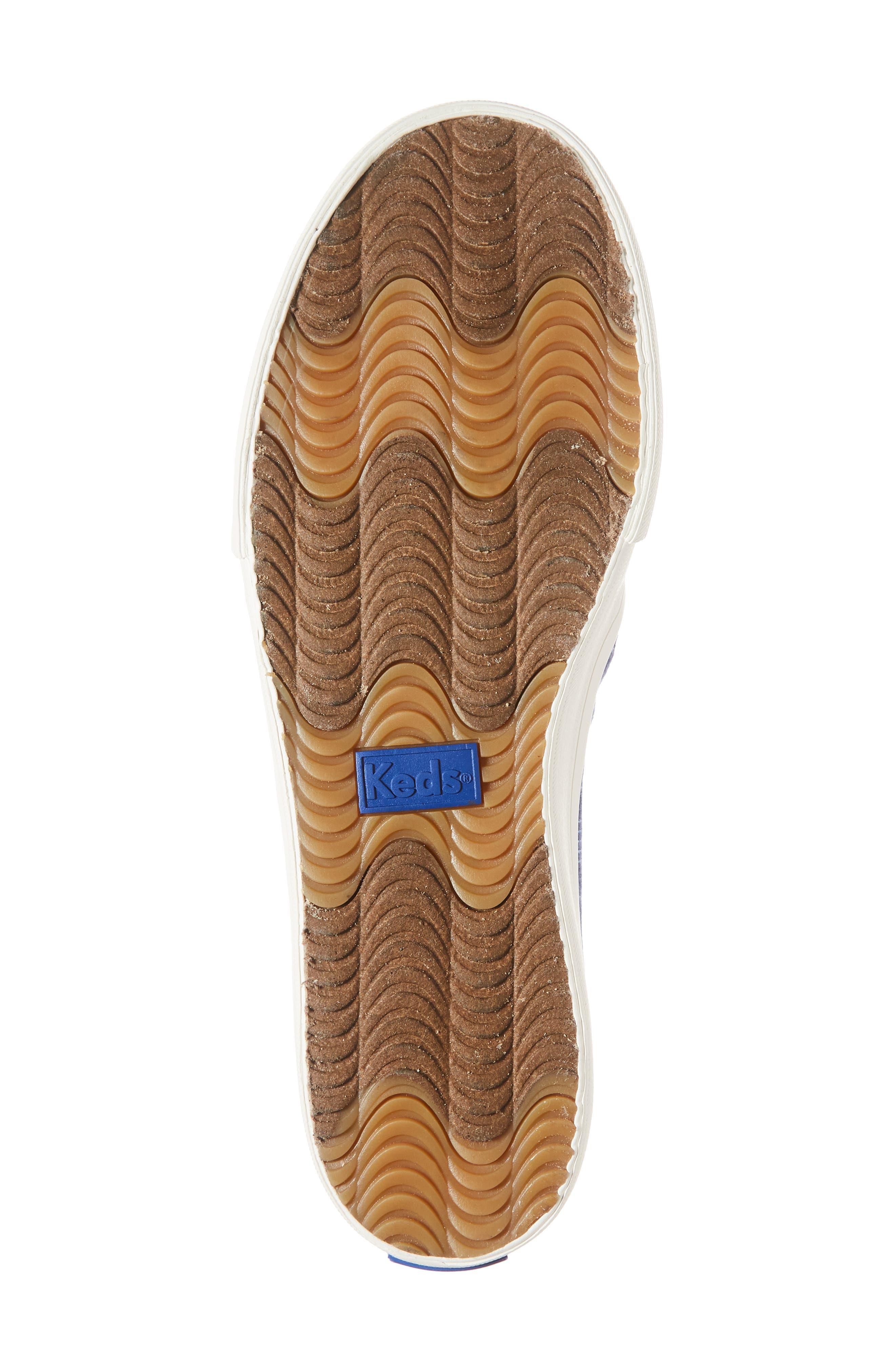 Alternate Image 6  - Keds® Double Decker Summer Stripe Slip-On Sneaker (Women)