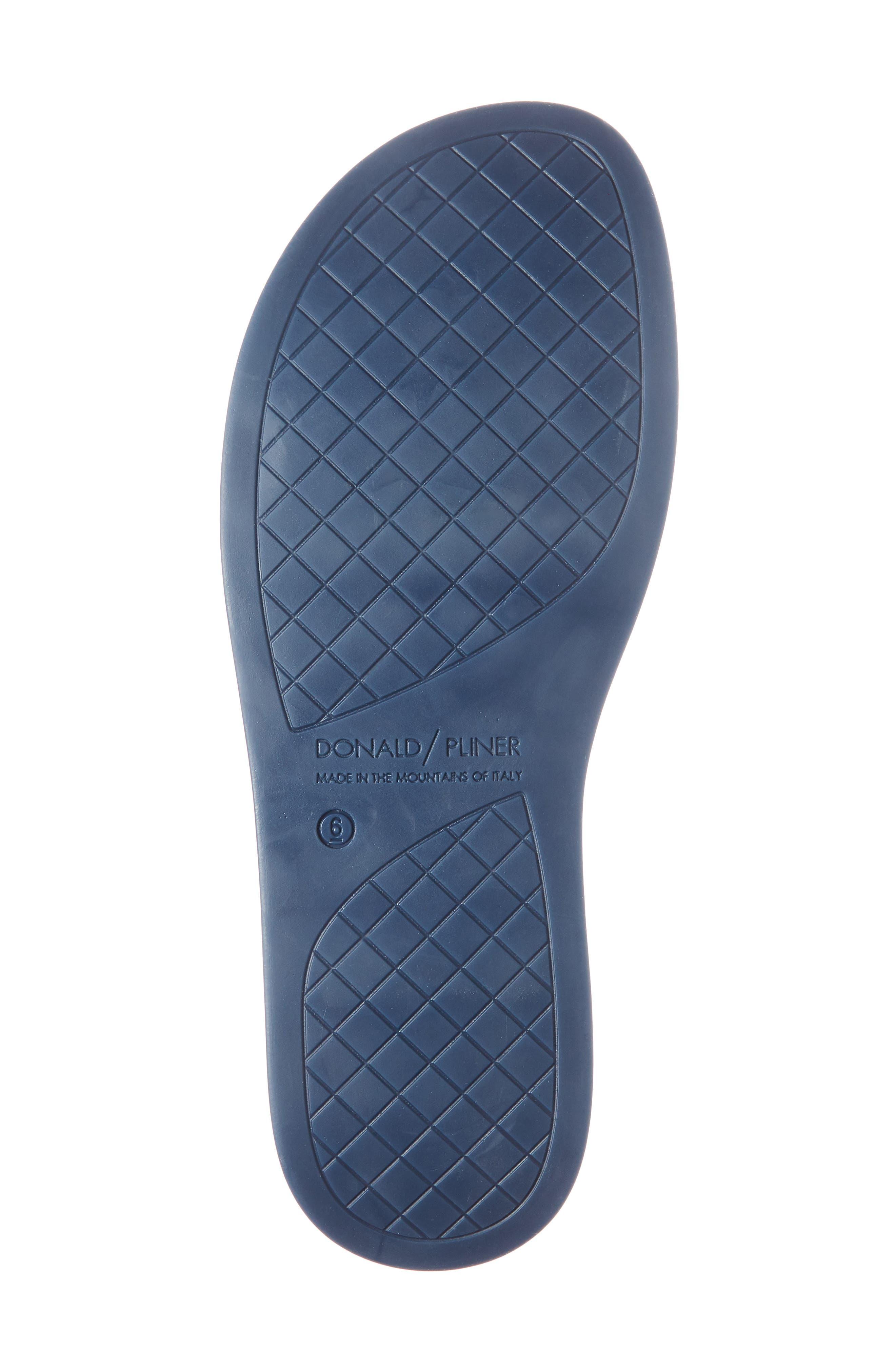 Bondi Jelly Slide Sandal,                             Alternate thumbnail 6, color,                             Navy