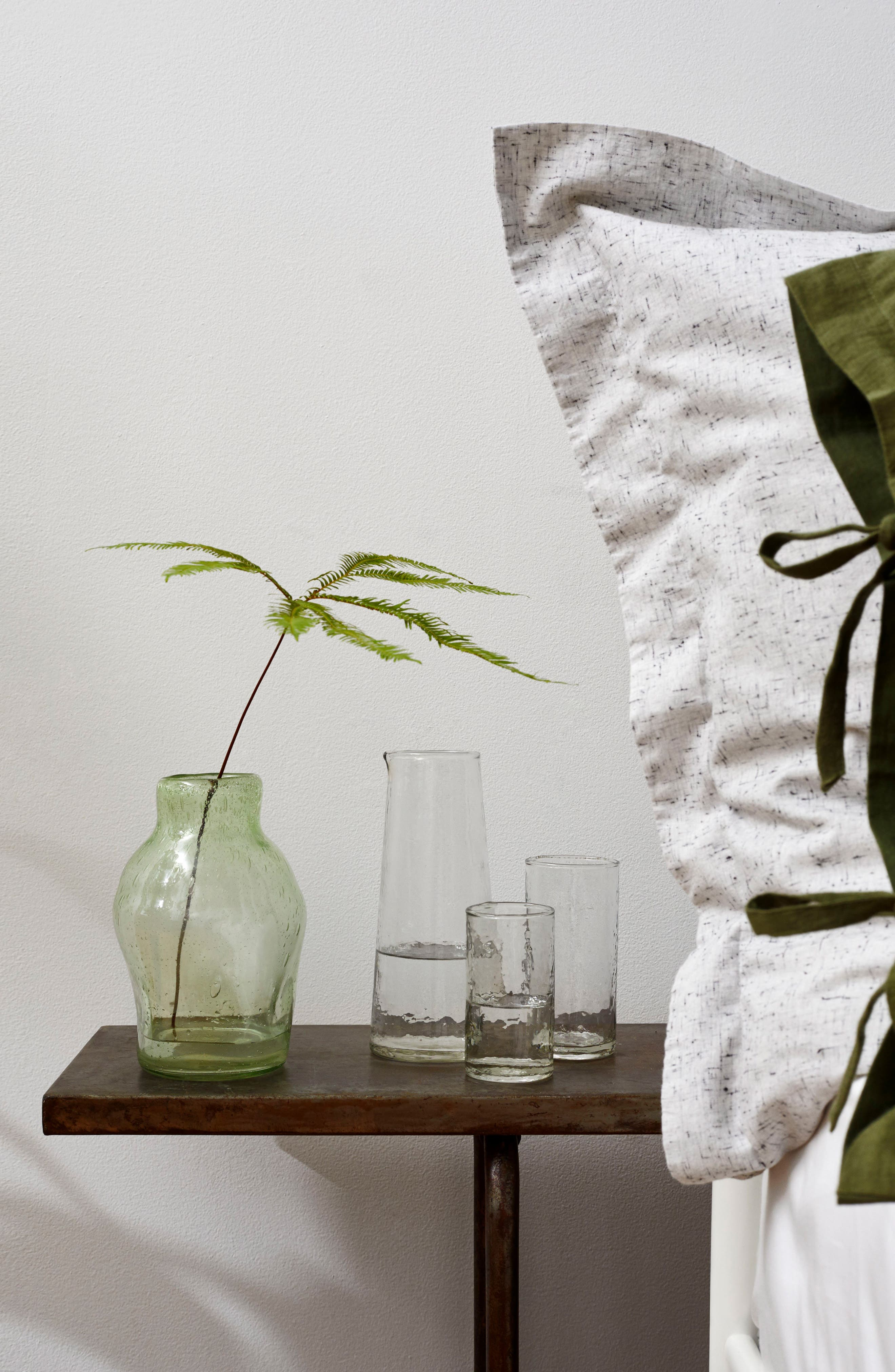 Hammered Glass Pitcher,                             Alternate thumbnail 2, color,
