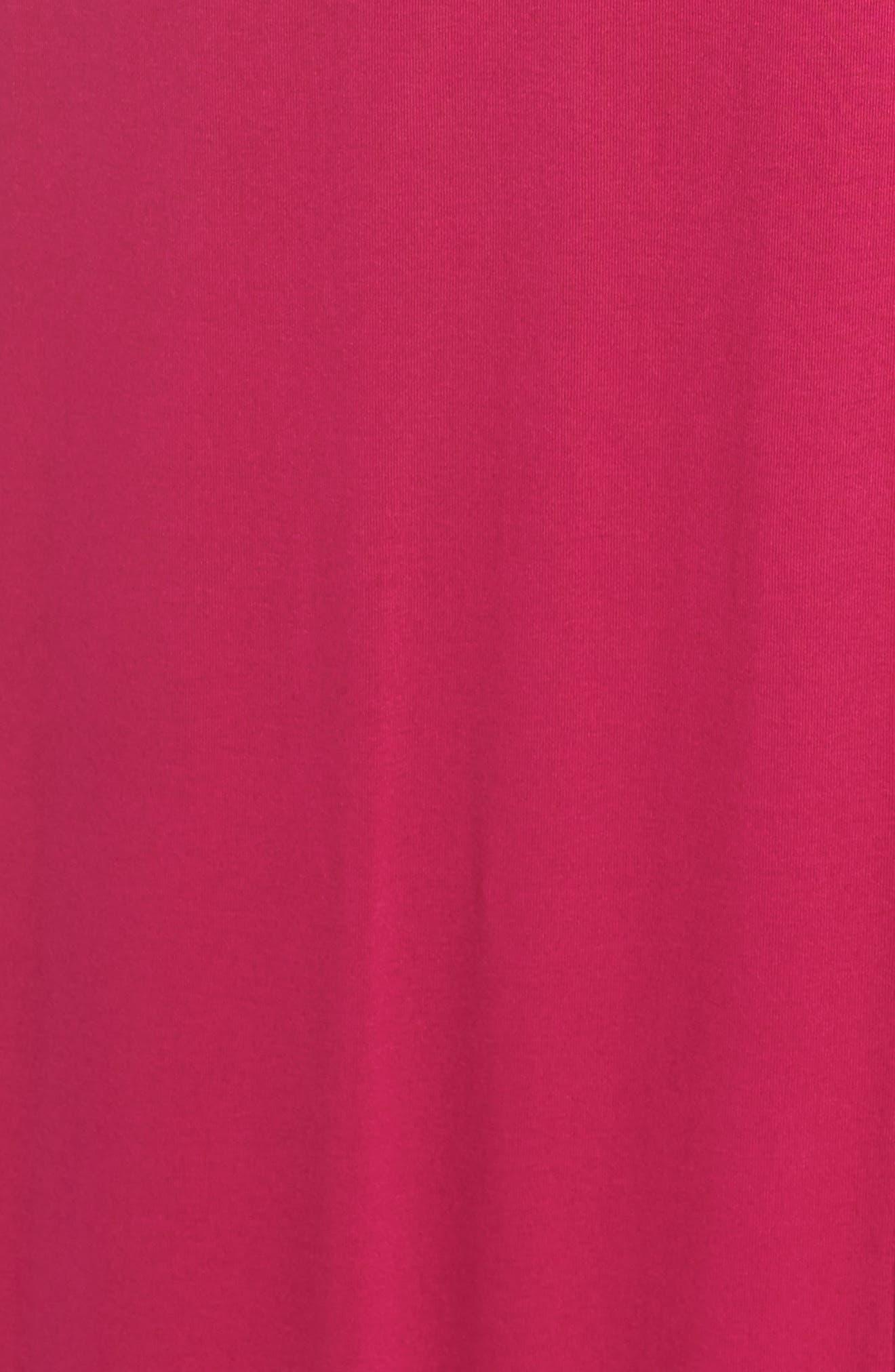 Jersey Maxi Dress,                             Alternate thumbnail 6, color,                             Pink