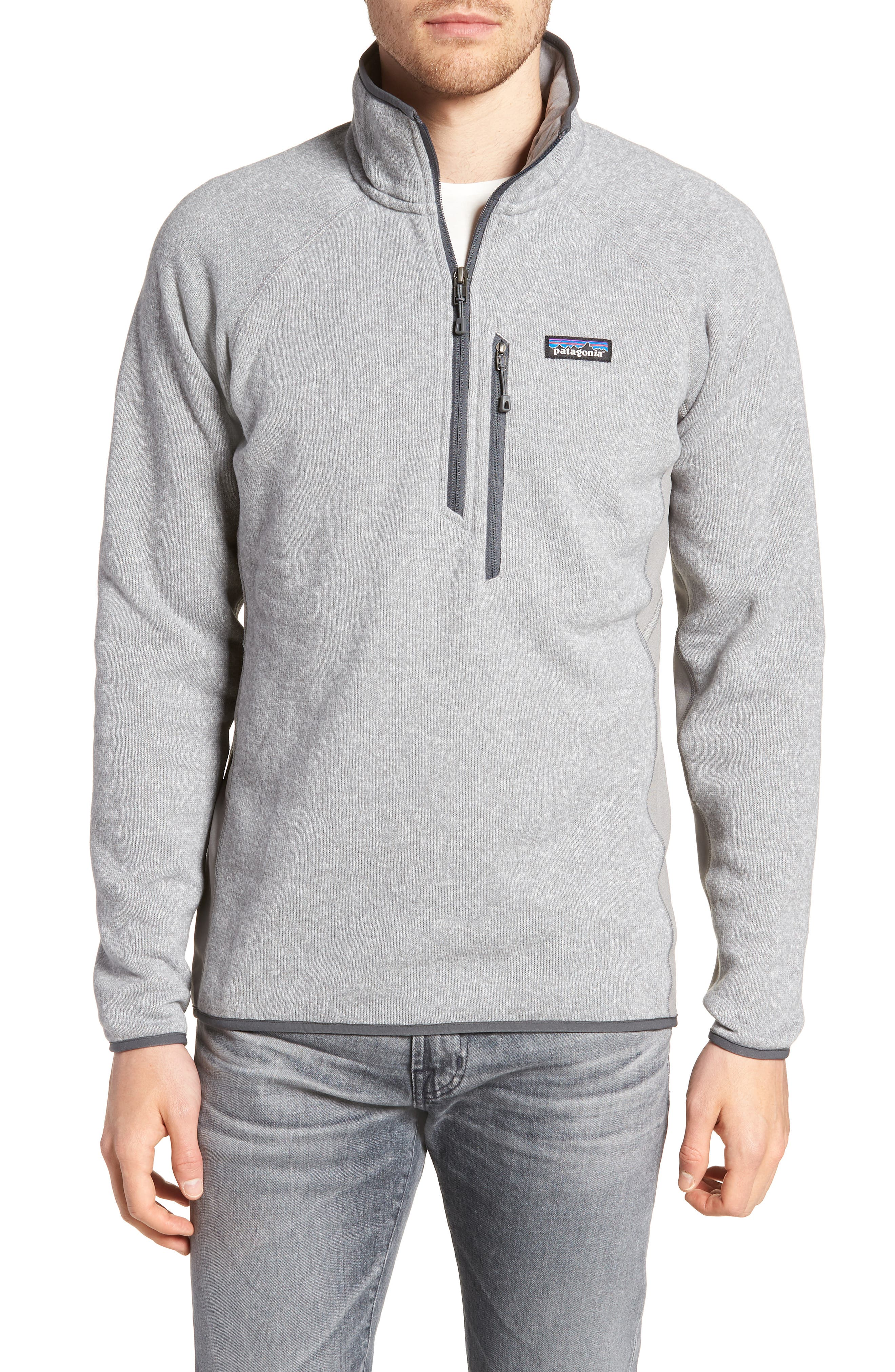 Performance Pullover,                         Main,                         color, Feather Grey