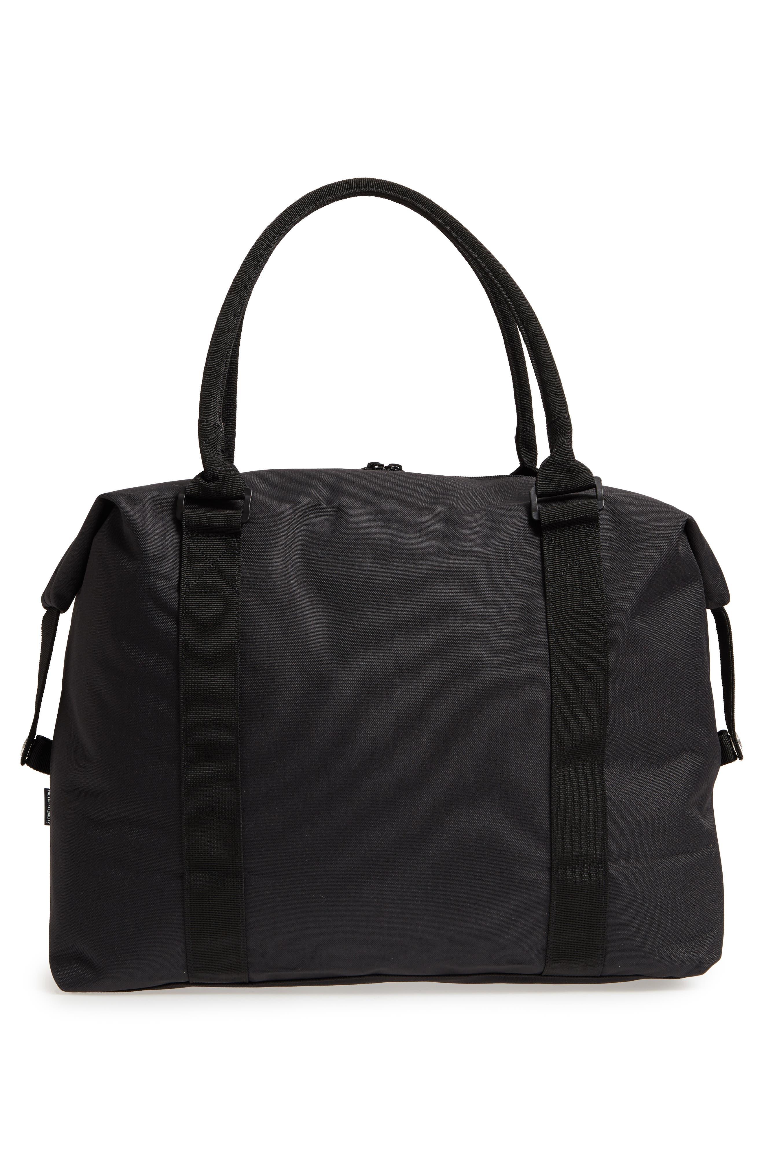 Strand Duffel Bag,                             Alternate thumbnail 3, color,                             Black