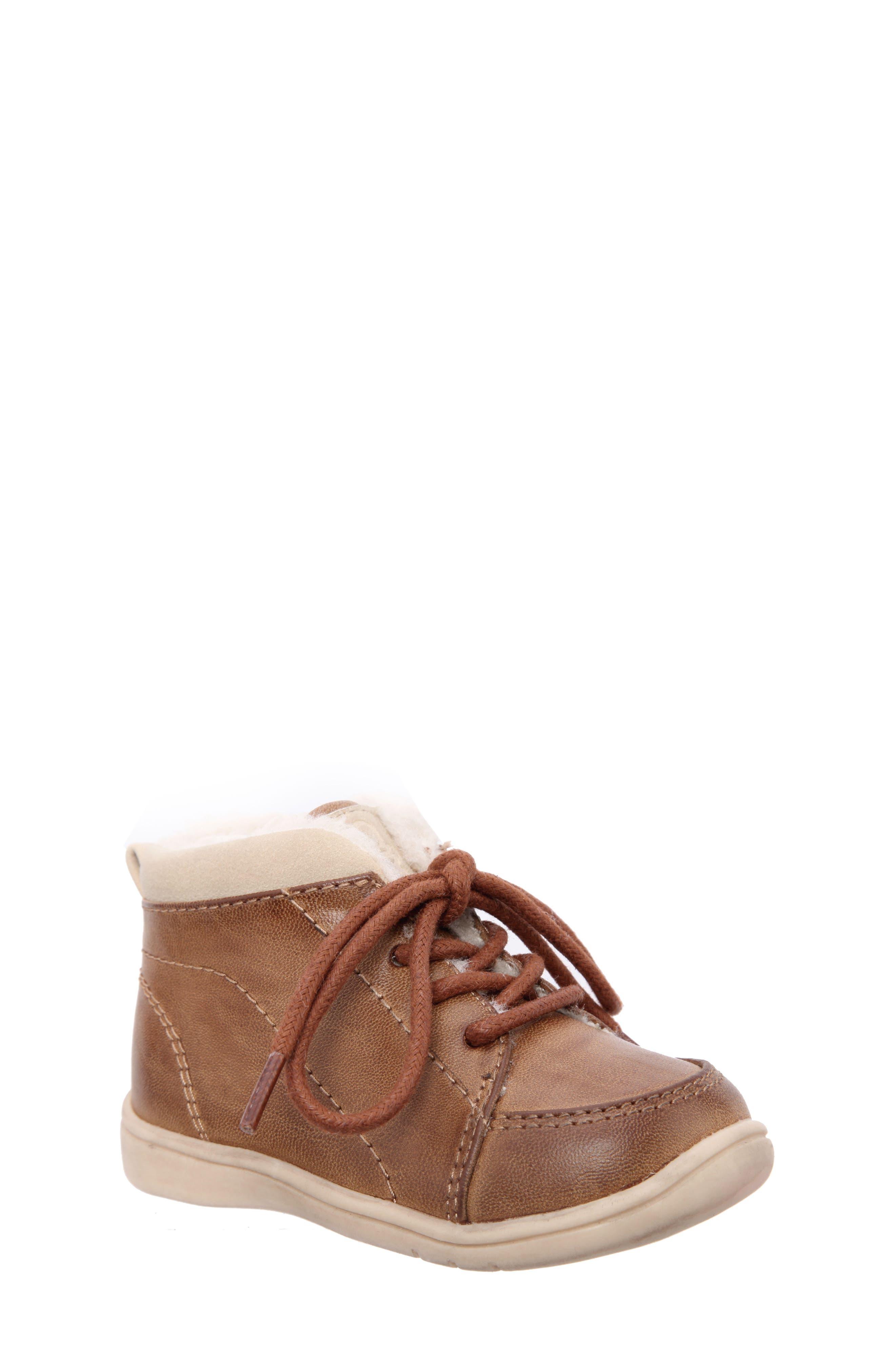 Nina Mobility Moe Sneaker,                         Main,                         color, Brown Burnish