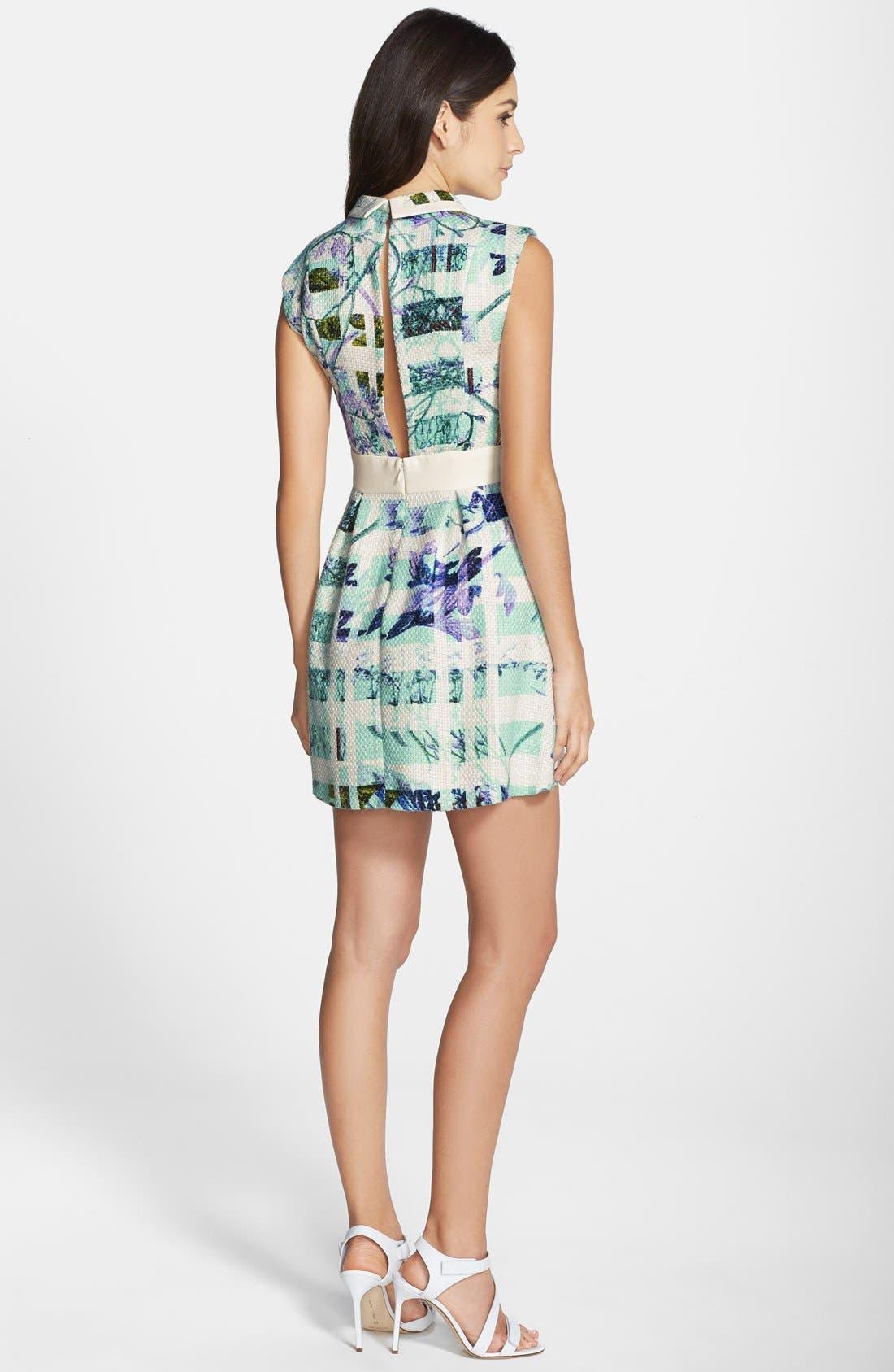 Alternate Image 2  - BCBGeneration Print Woven Fit & Flare Dress