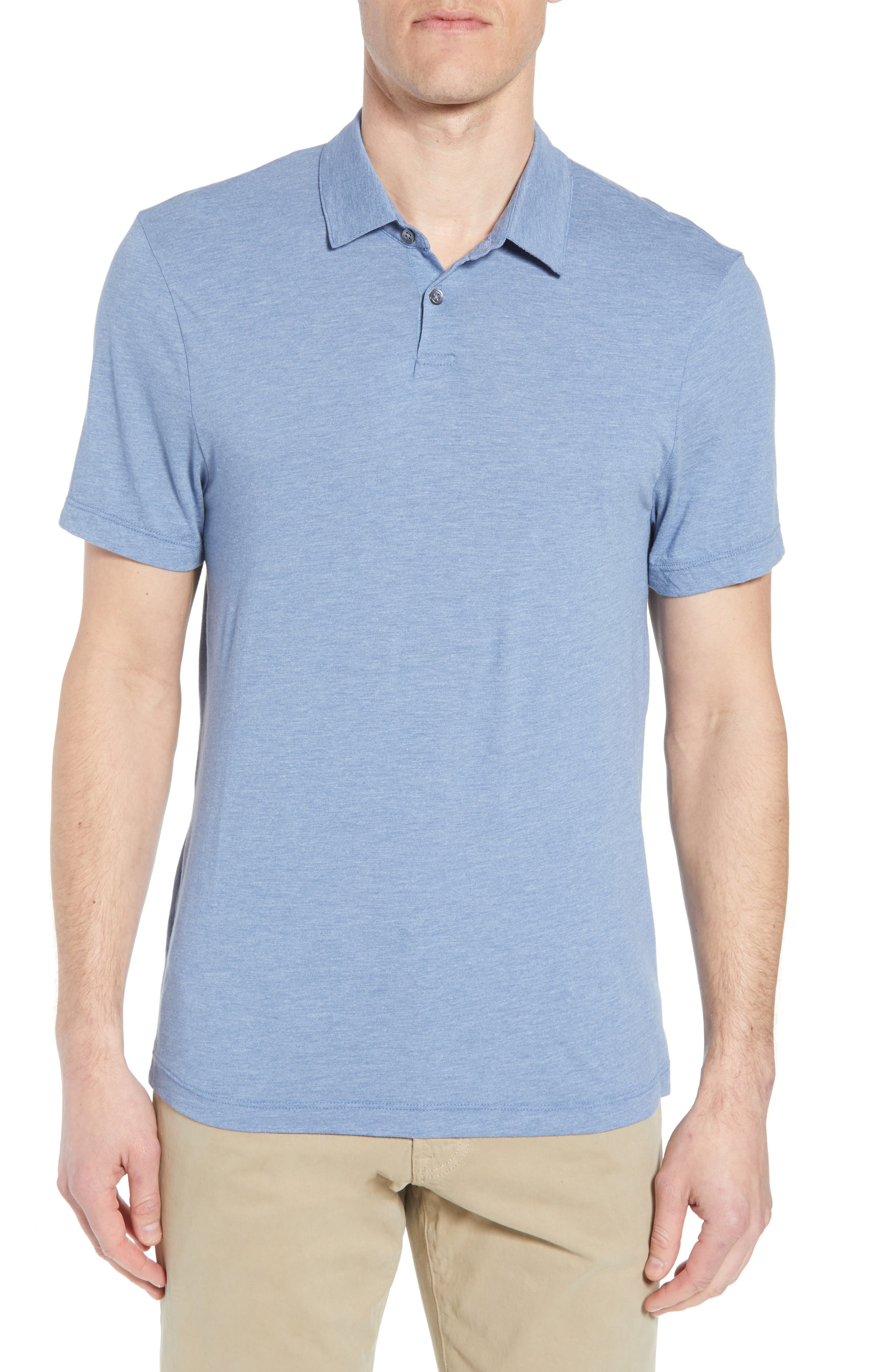 Alternate Image 1 Selected - James Perse Point Collar Polo (Men)