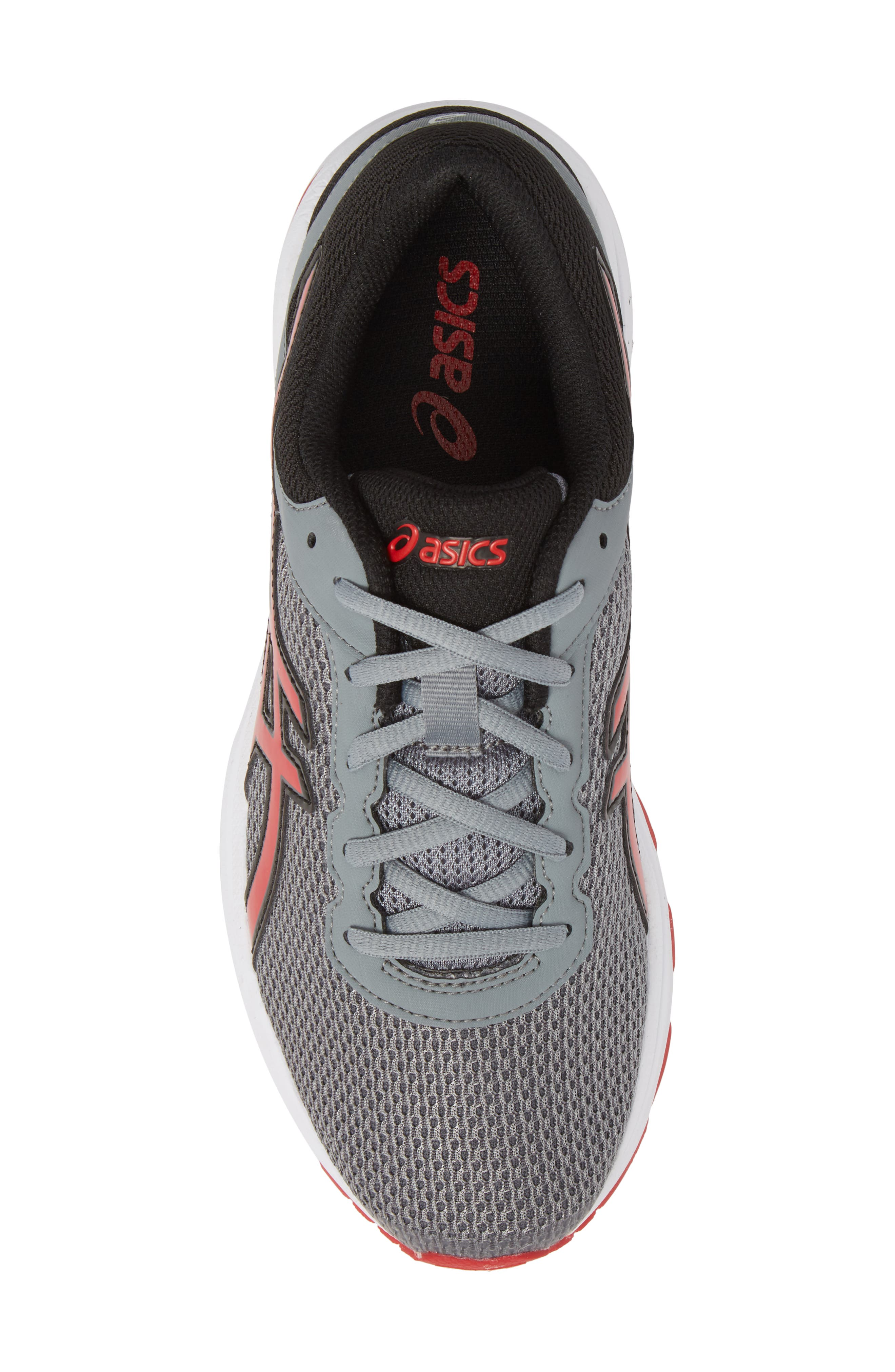 Asics GT-1000<sup>™</sup> 6 GS Sneaker,                             Alternate thumbnail 5, color,                             Stone Grey/ Classic Red/ Black