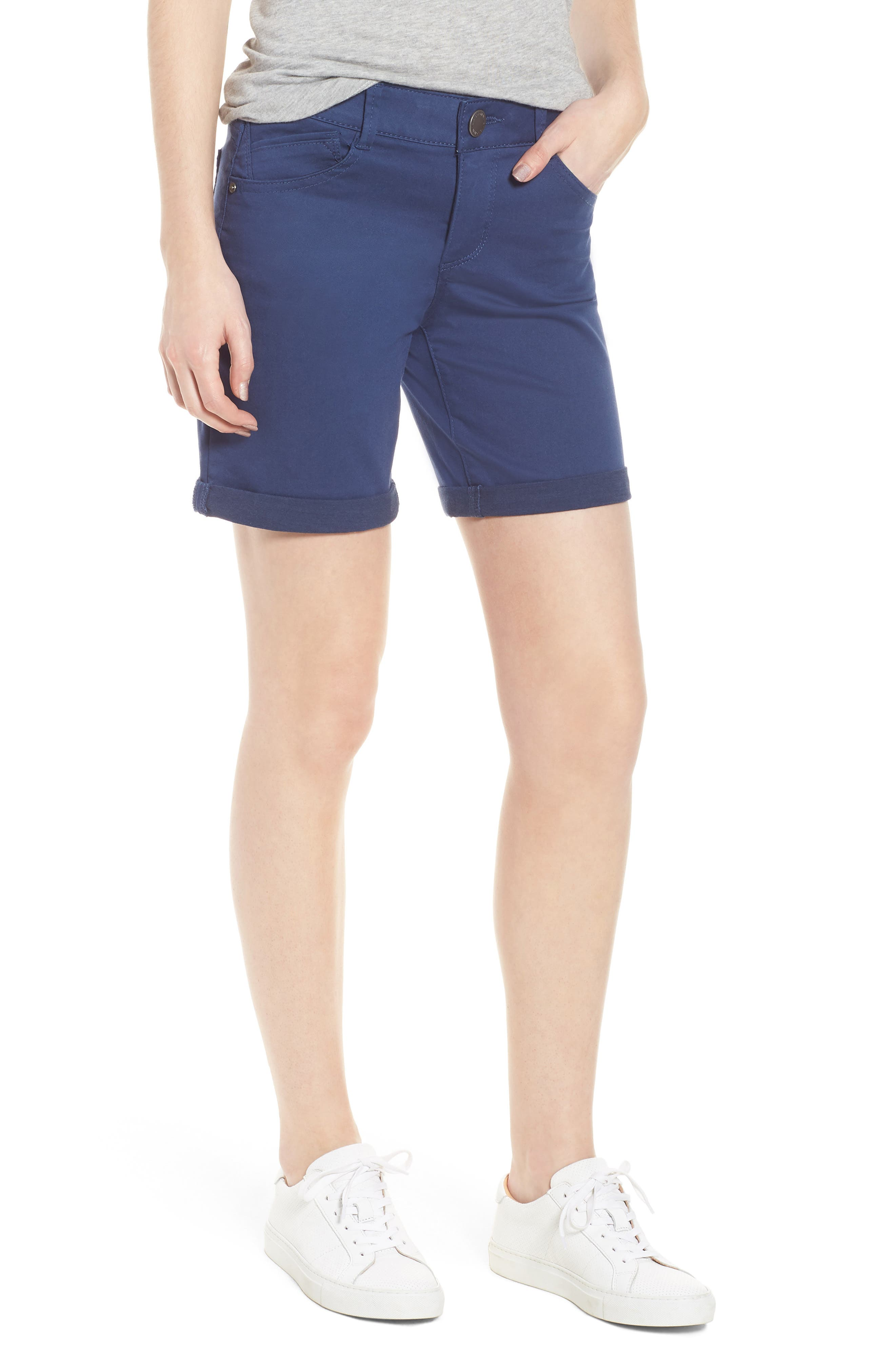 Wit & Wisdom Ab-Solution Stretch Cotton Shorts