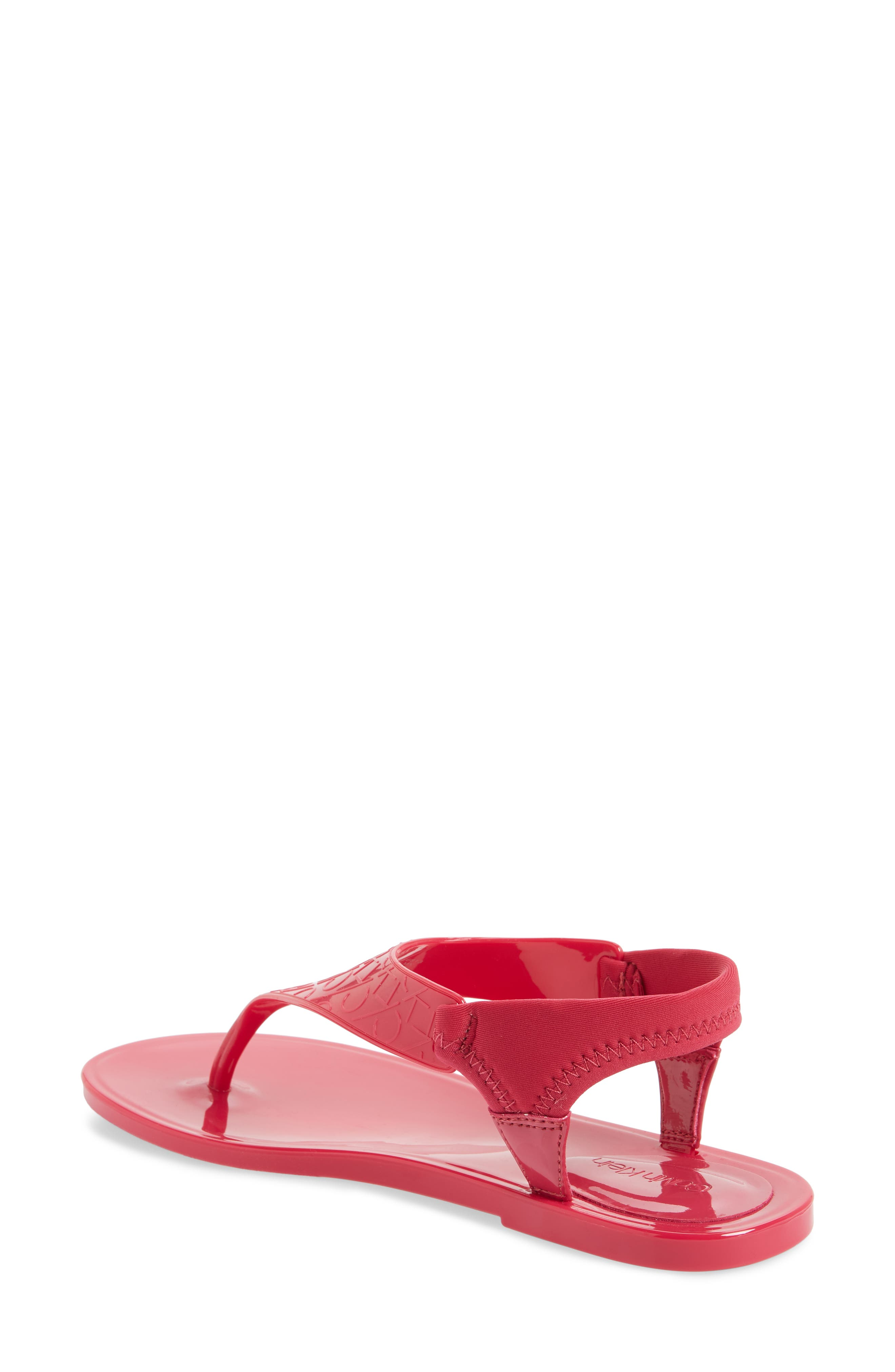 Janny Jelly Sandal,                             Alternate thumbnail 2, color,                             Hibiscus Pink