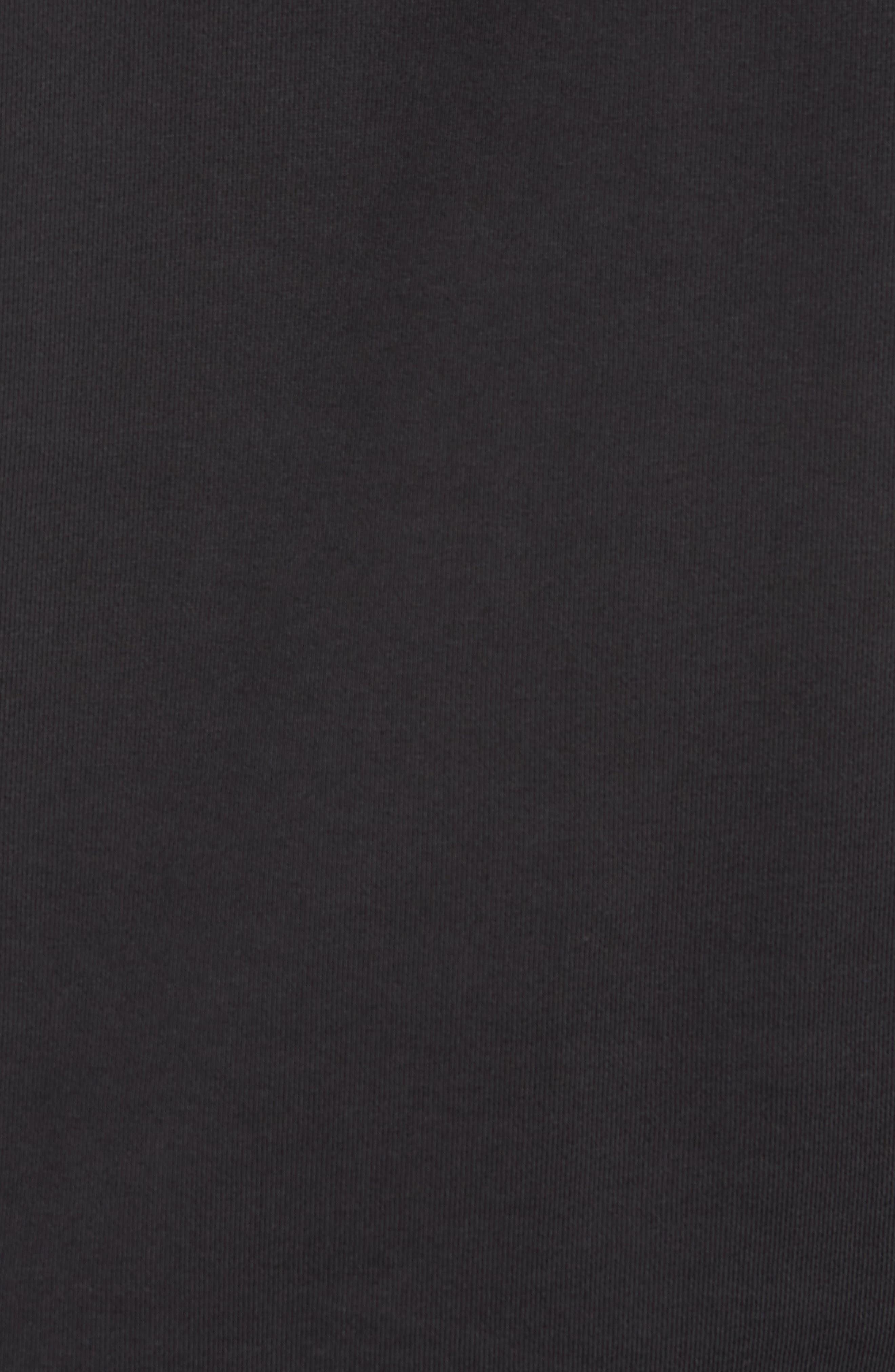 Bowery Slash Sweatshirt,                             Alternate thumbnail 5, color,                             Black