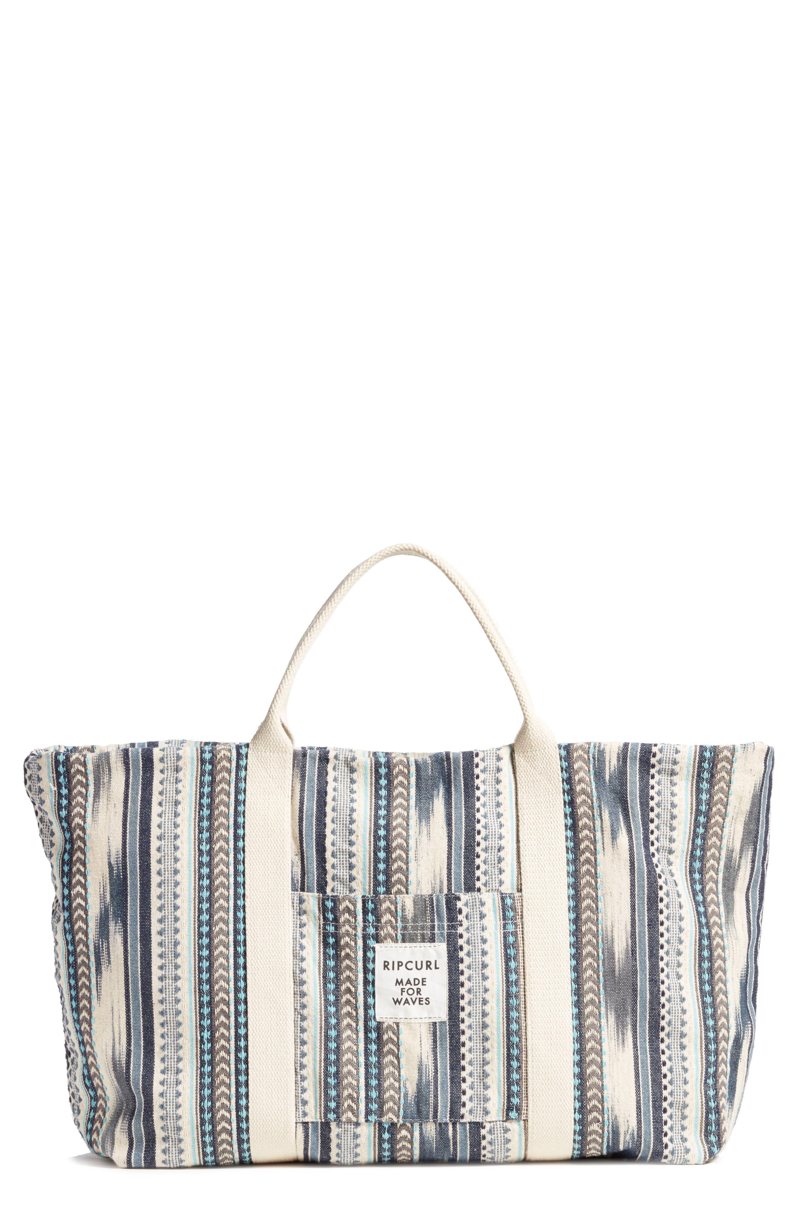 Beach Bizarre Tote Bag,                         Main,                         color, Natural