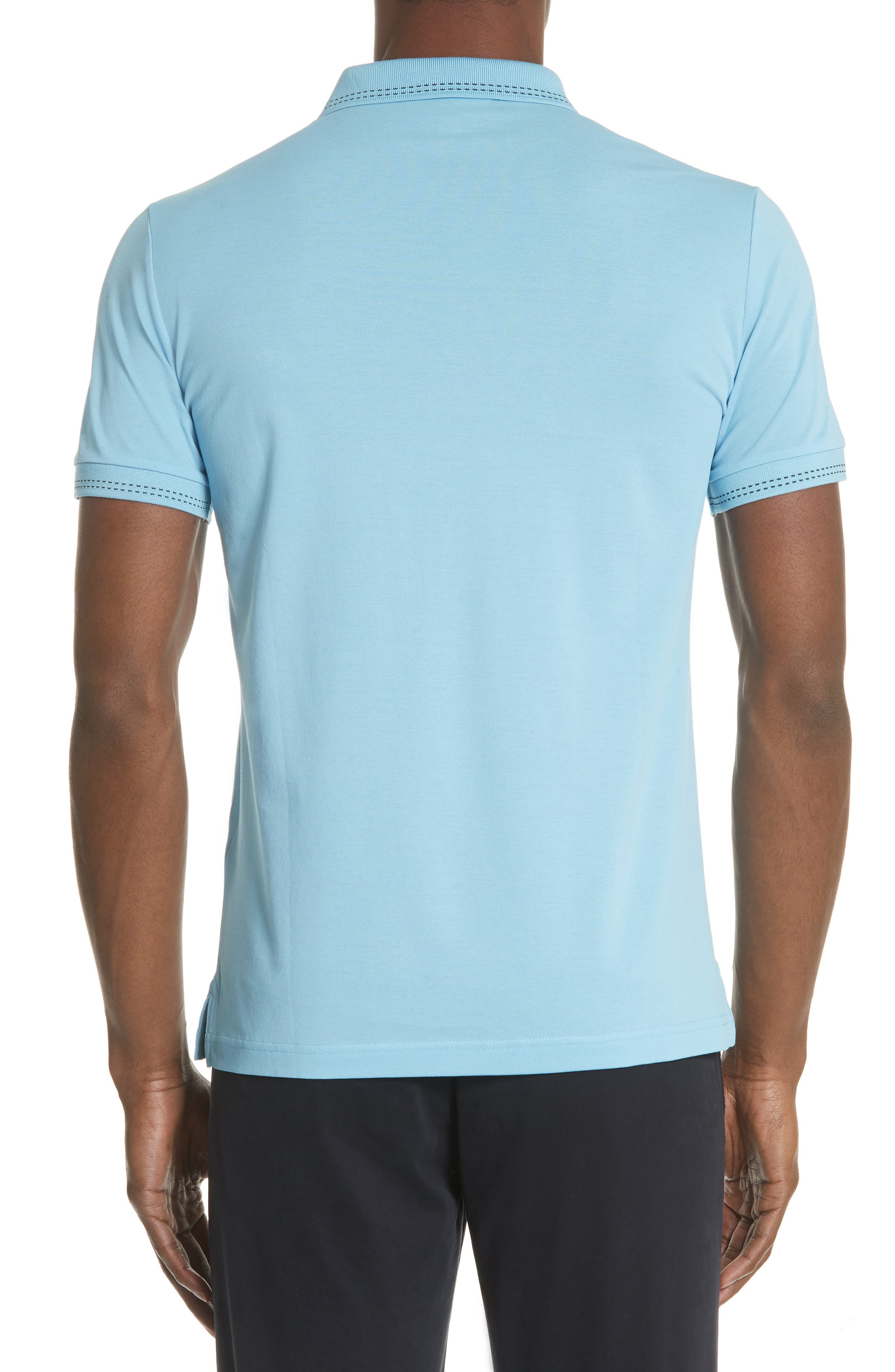 Kenforth Polo,                             Alternate thumbnail 2, color,                             Pale Turquoise