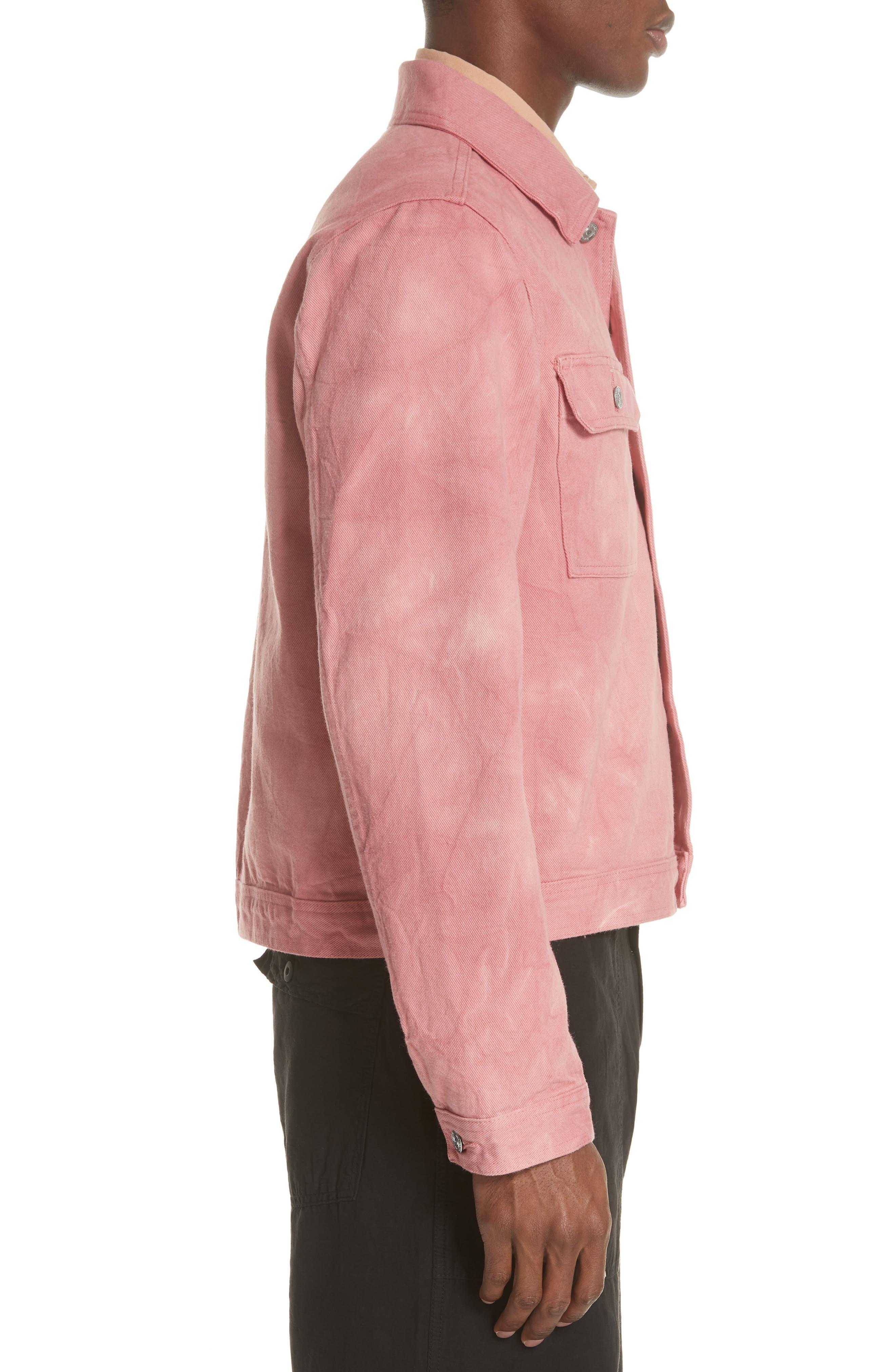 Dye Jacket,                             Alternate thumbnail 3, color,                             Pink
