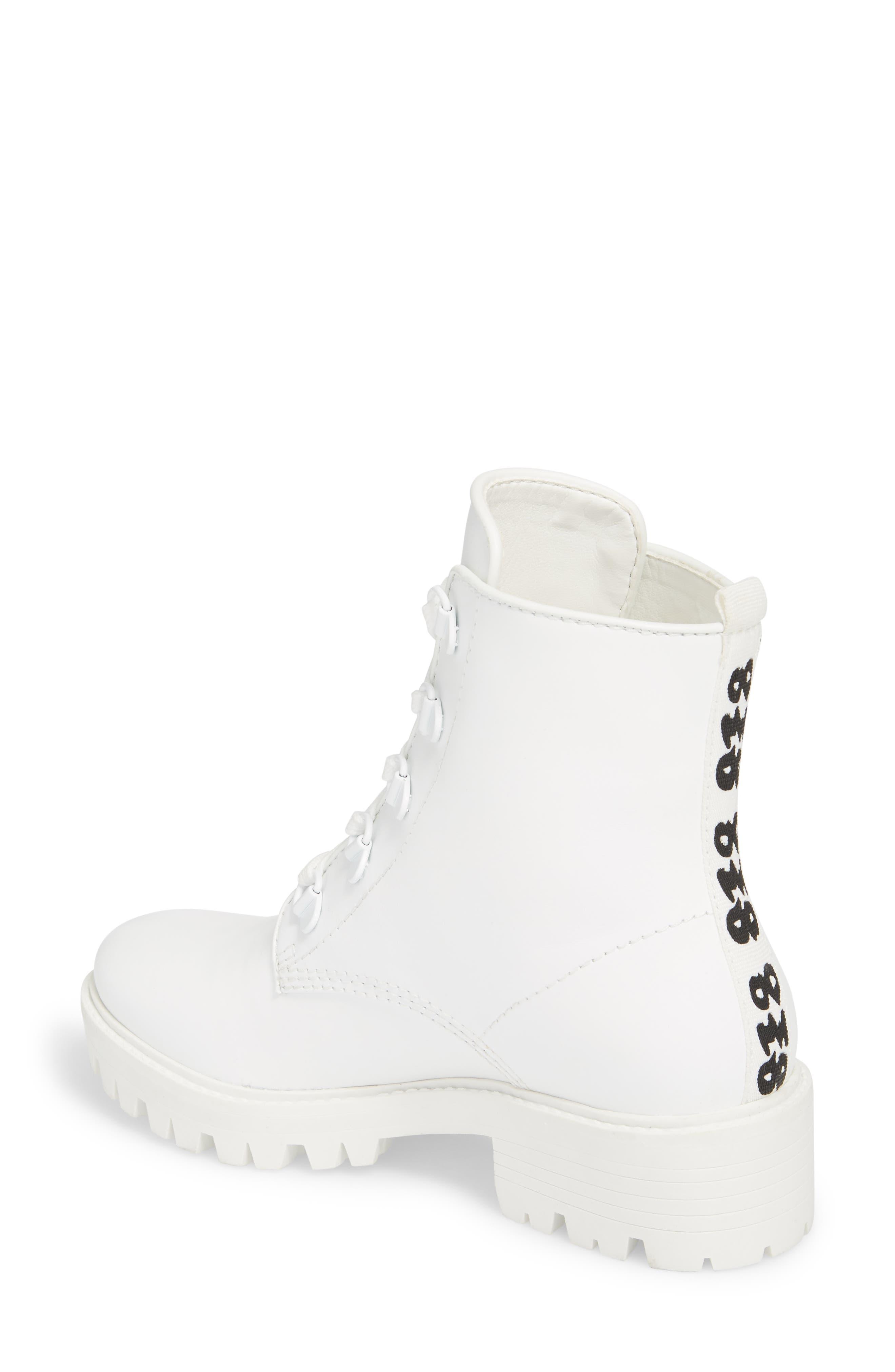 Military Boot,                             Alternate thumbnail 2, color,                             White/ White/ White