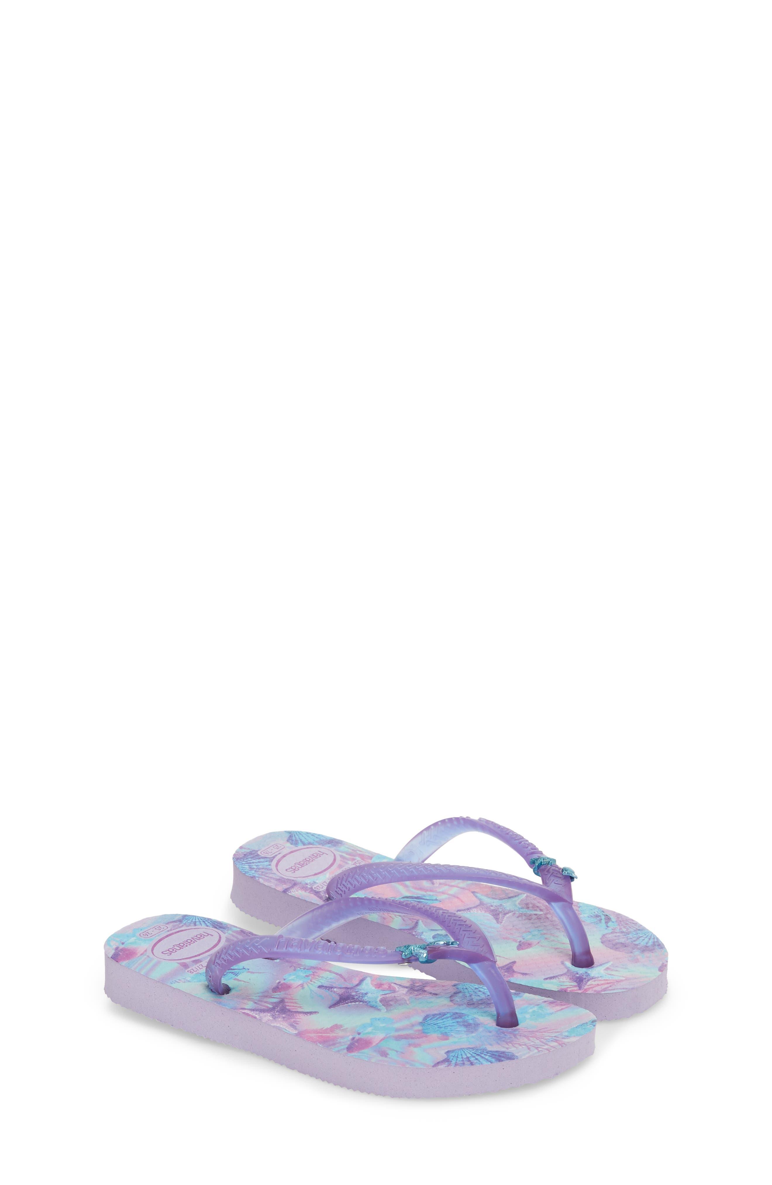 Havianas Slim Summer Flip Flop,                             Alternate thumbnail 3, color,                             Lavender