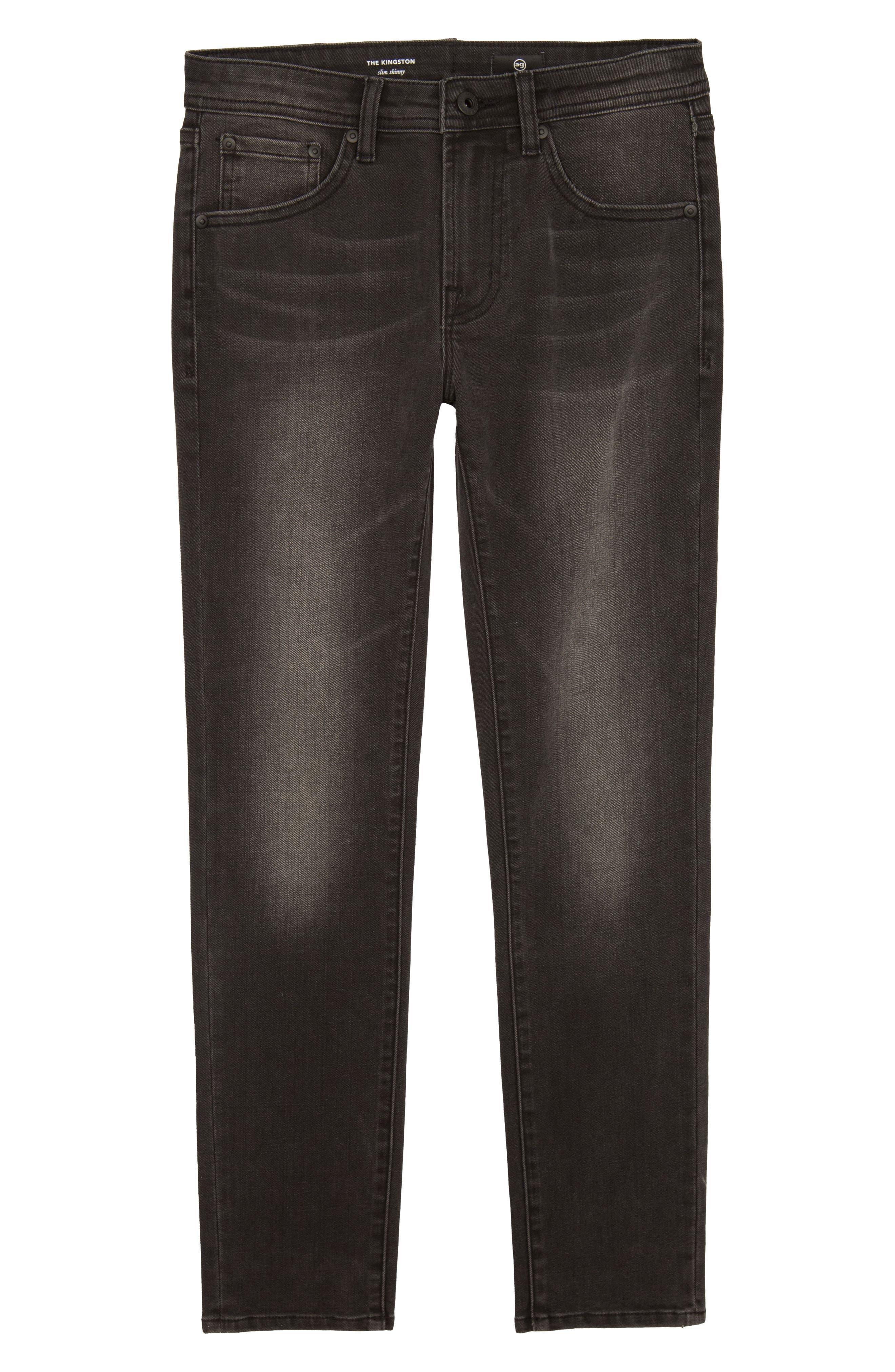 The Kingston Slim Jeans,                         Main,                         color, Night Owl