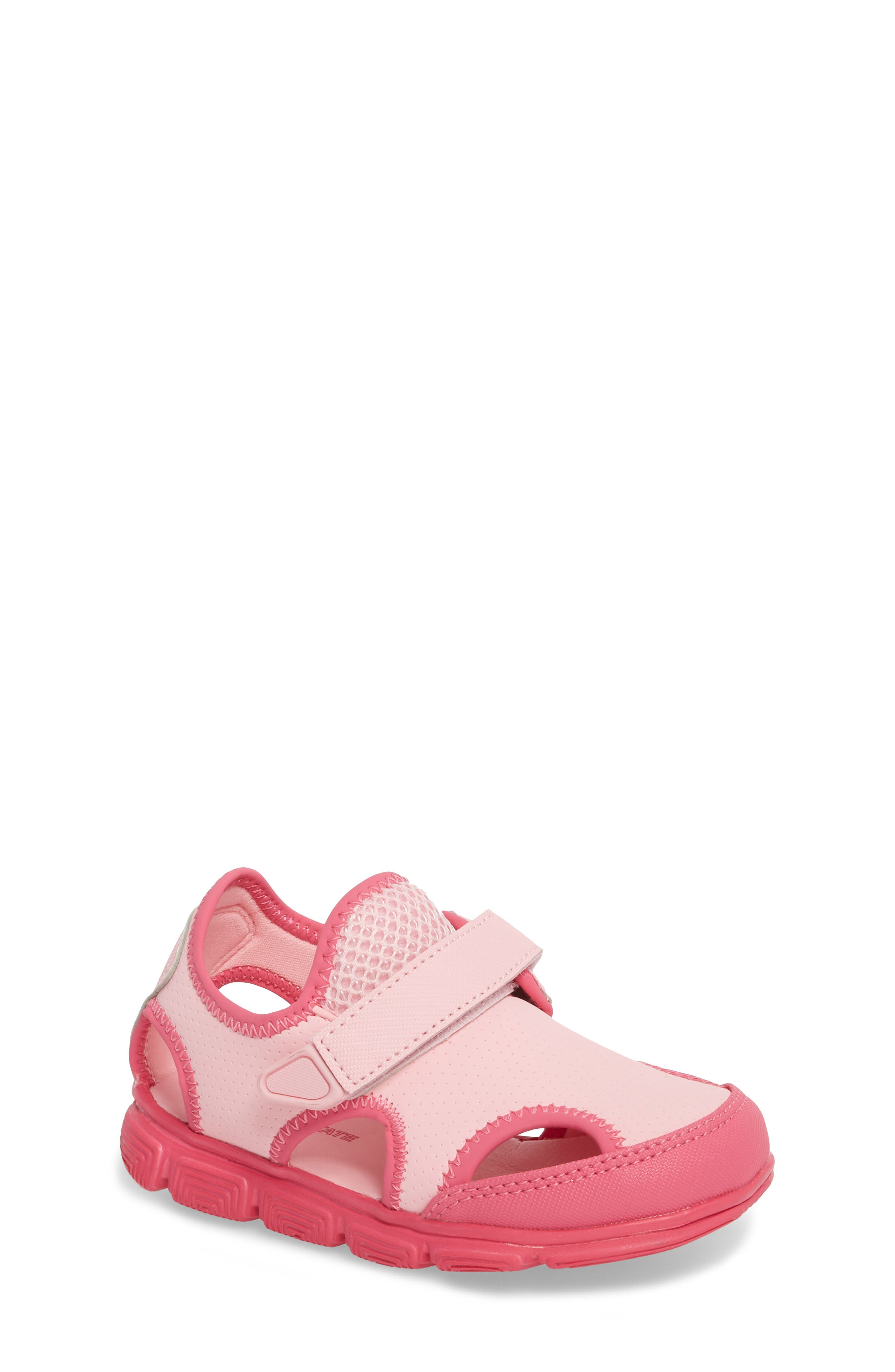 Sophie Water Sandal,                             Main thumbnail 1, color,                             Pink/ Dark Pink