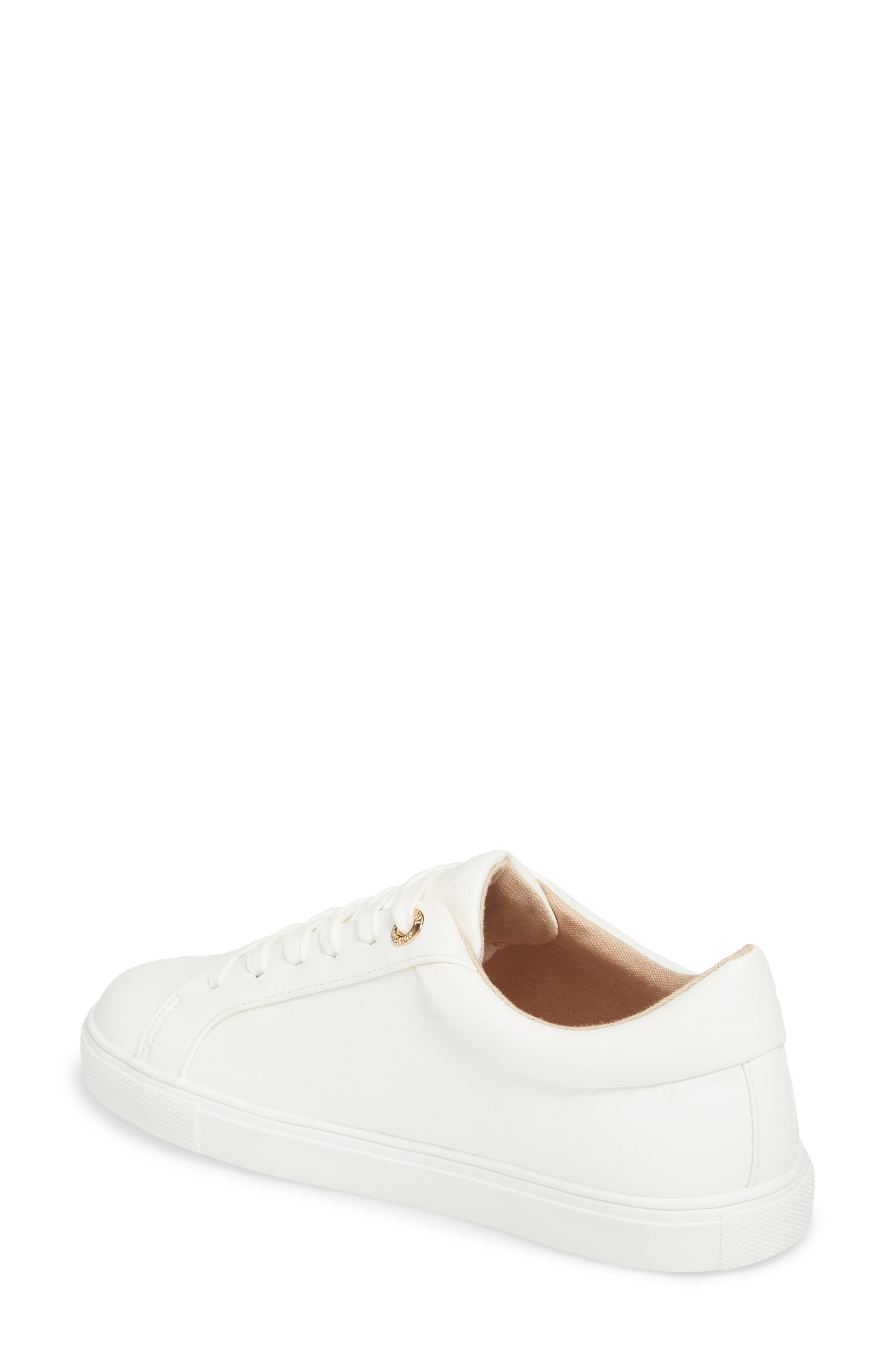 Cookie Low Top Sneaker,                             Alternate thumbnail 2, color,                             White