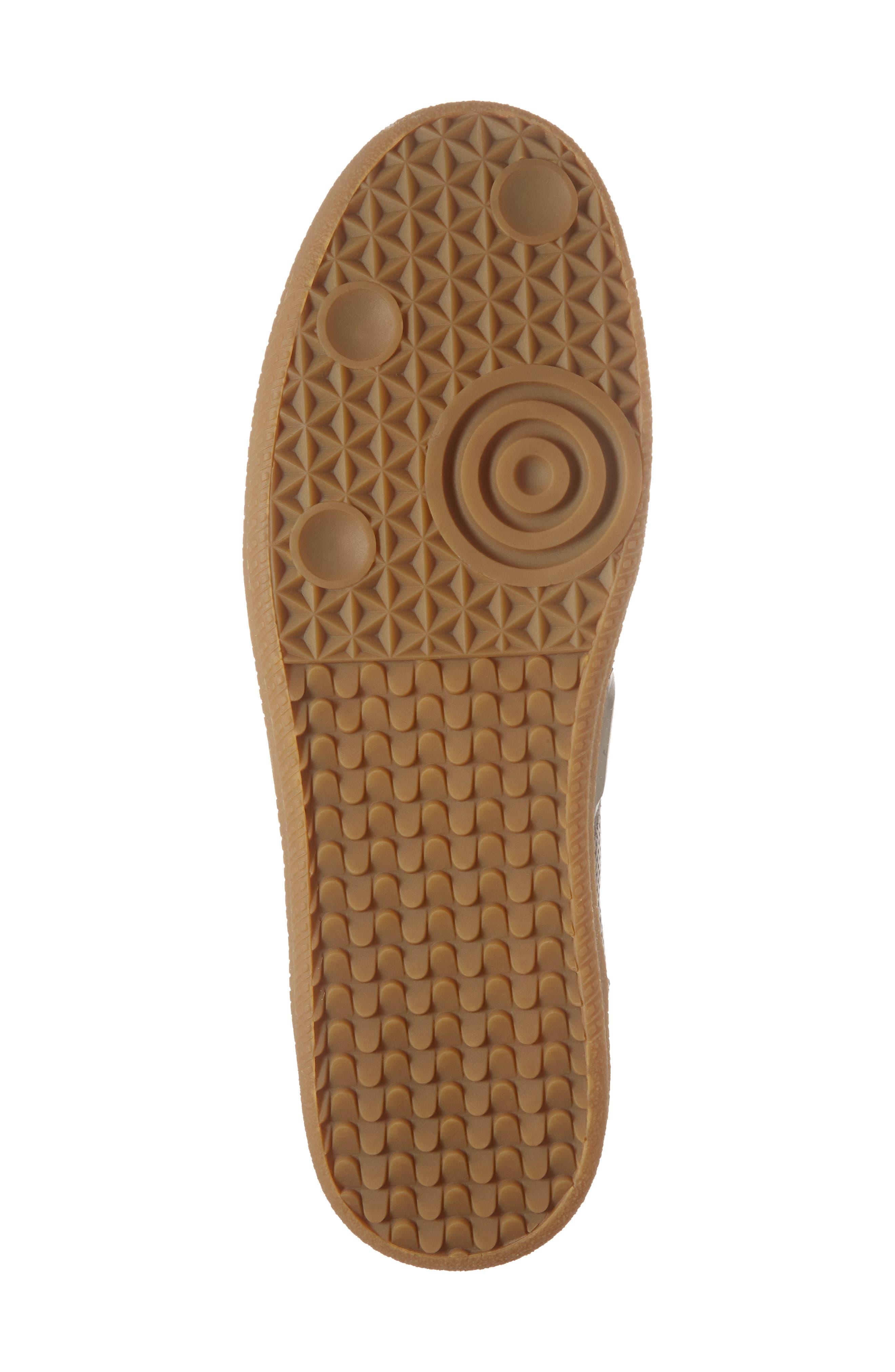 Xavi Embossed Low Top Sneaker,                             Alternate thumbnail 6, color,                             Grey/ Grey Leather