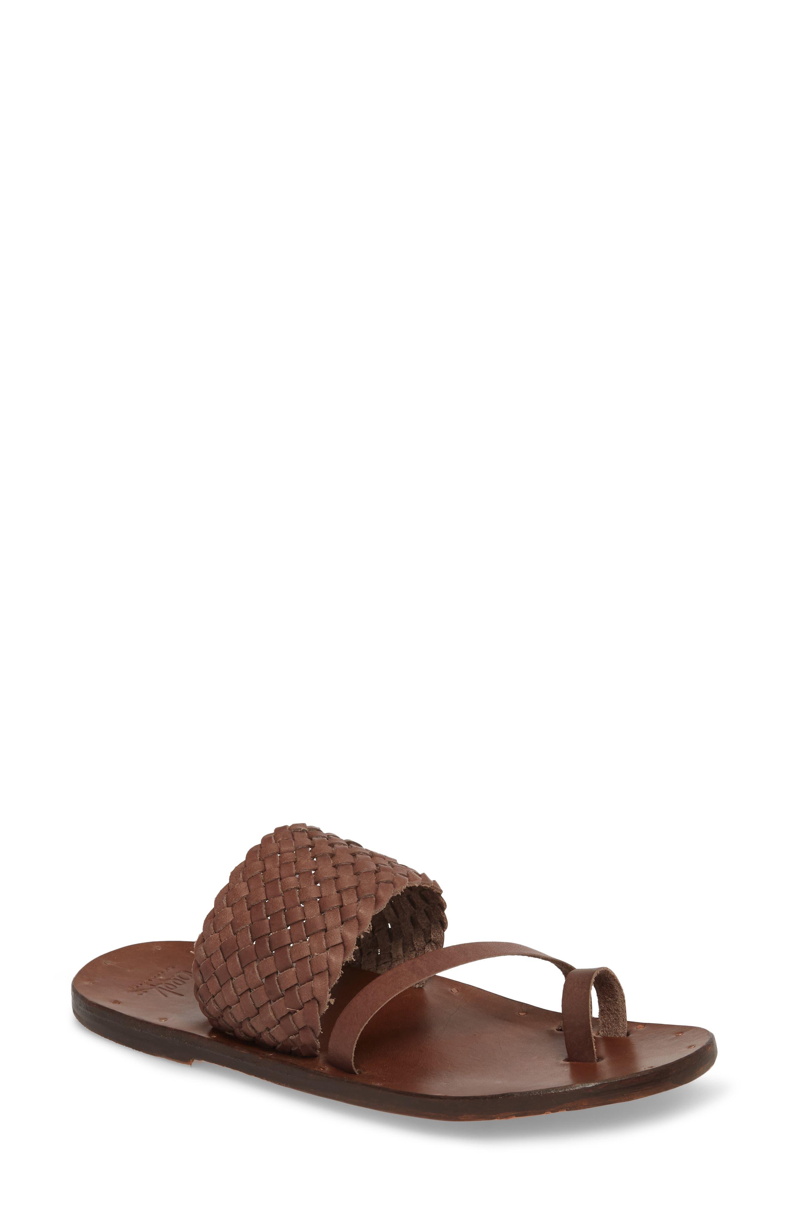 BEEK Women's Cockatiel Woven Slide Sandal