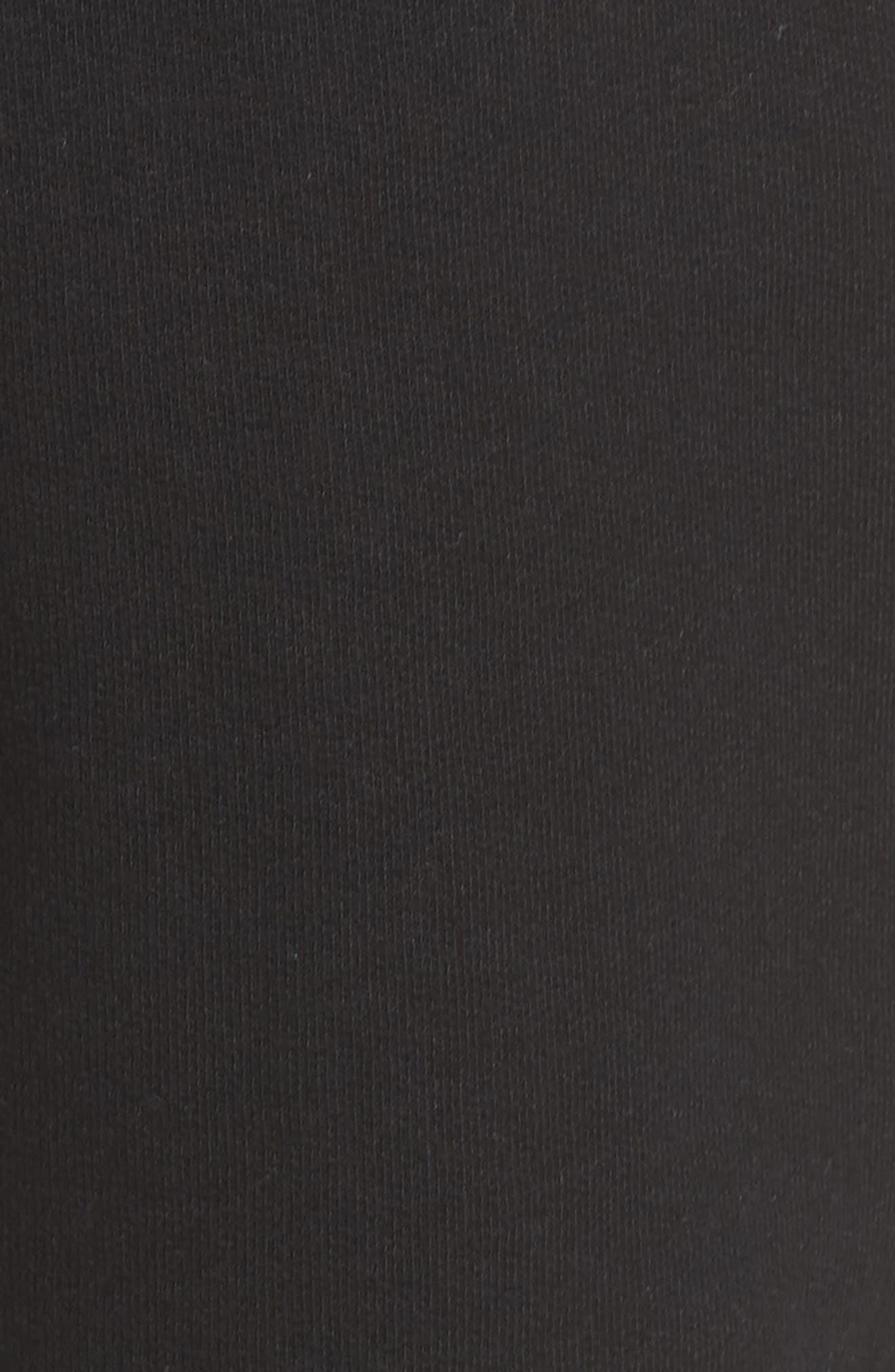 Blonde Lounge Shorts,                             Alternate thumbnail 6, color,                             Black