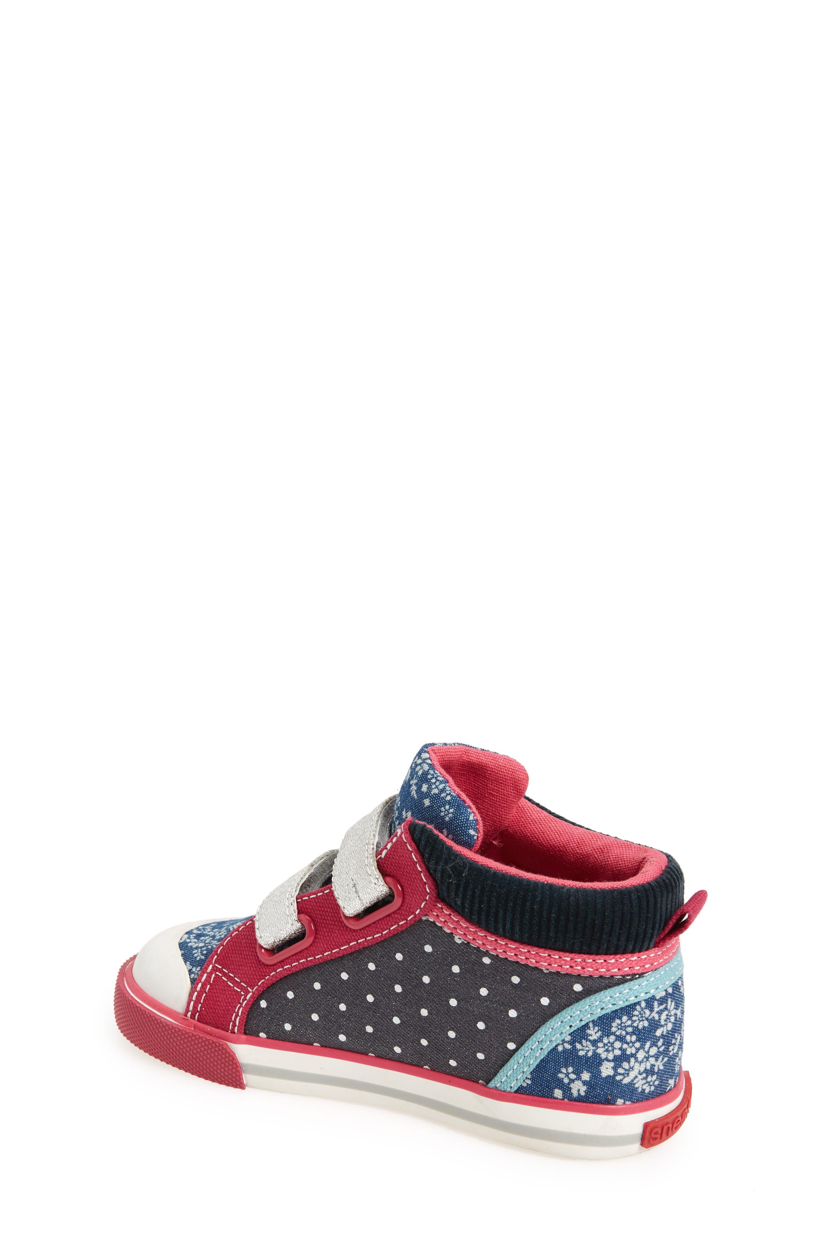 Kya Sneaker,                             Alternate thumbnail 2, color,                             Navy Corduroy/ Multi
