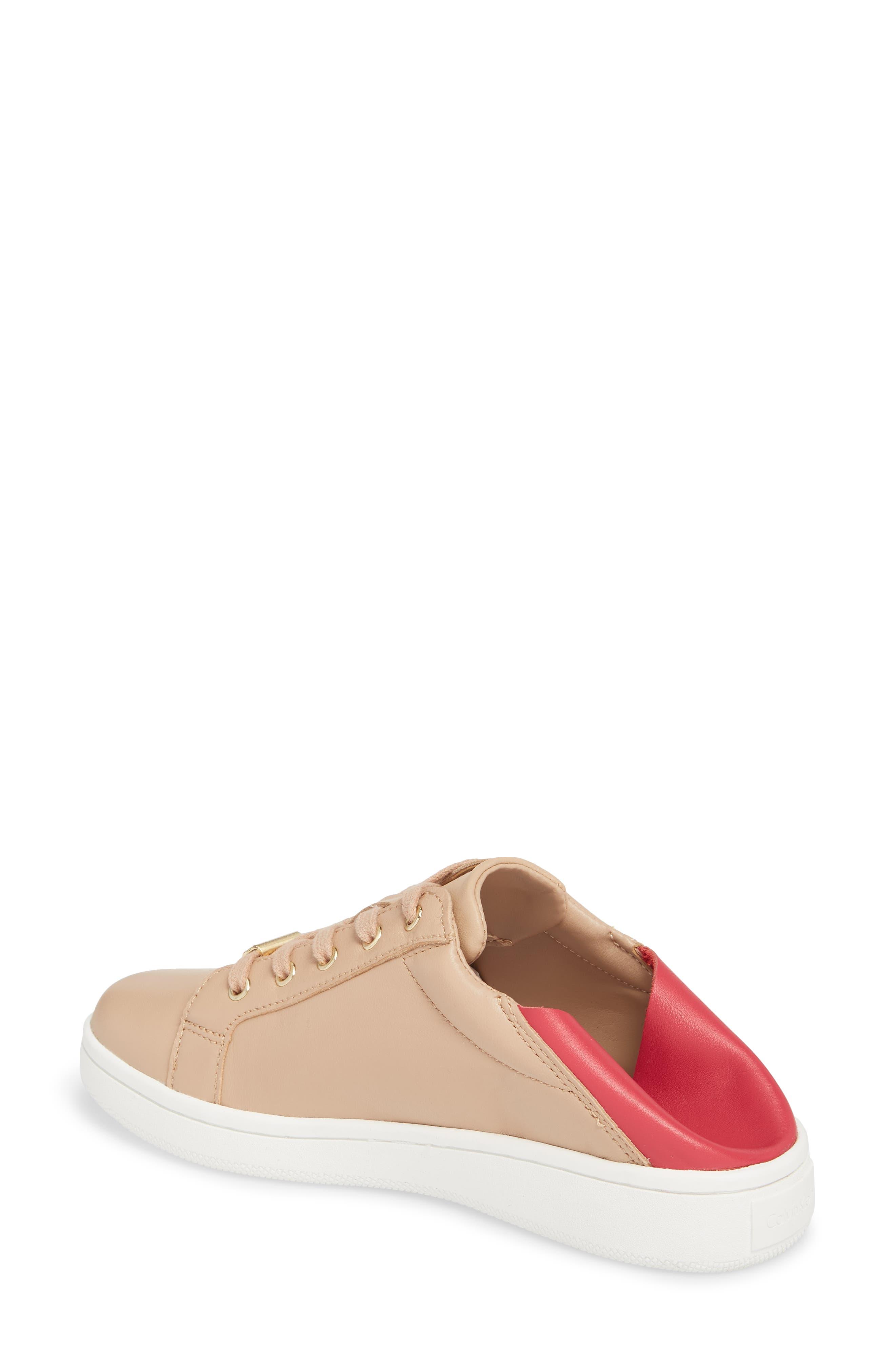 Danica Convertible Sneaker,                             Alternate thumbnail 2, color,                             Desert Sand Leather