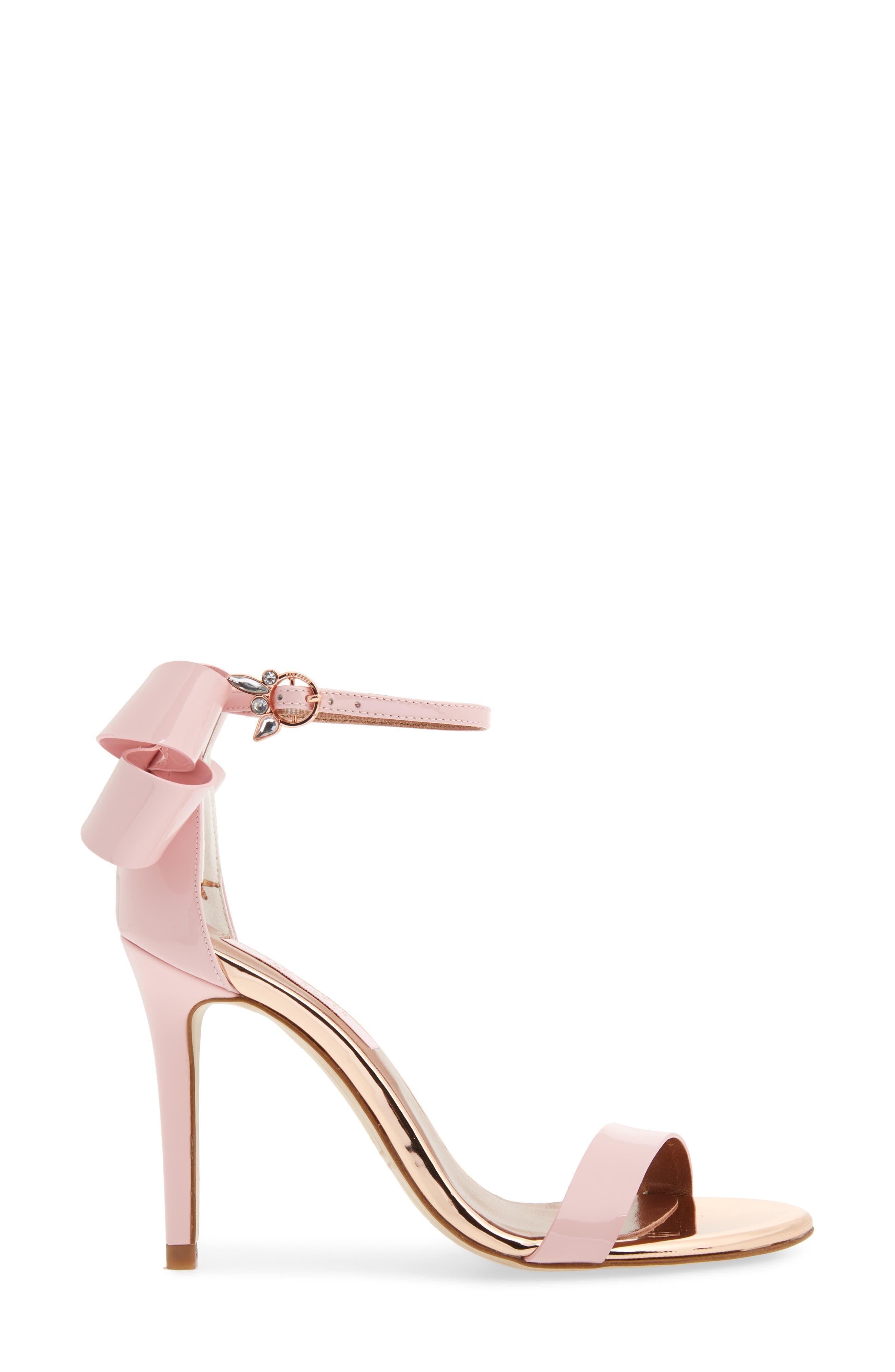 Sandalo Sandal,                             Alternate thumbnail 3, color,                             Light Pink Leather