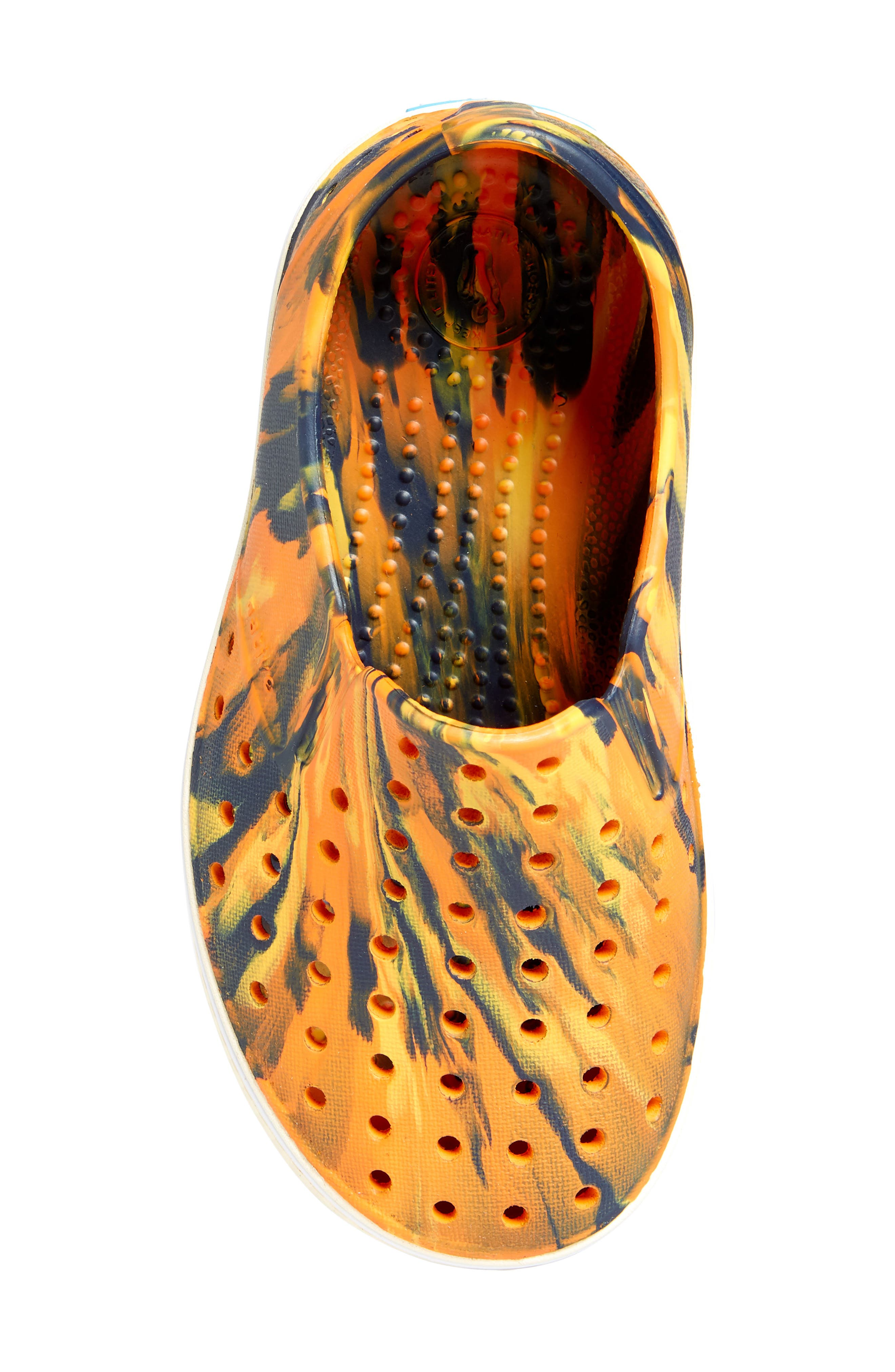 Alternate Image 5  - Native Shoes Miles Marbled Slip-On Sneaker (Baby, Walker, Toddler & Little Kid)