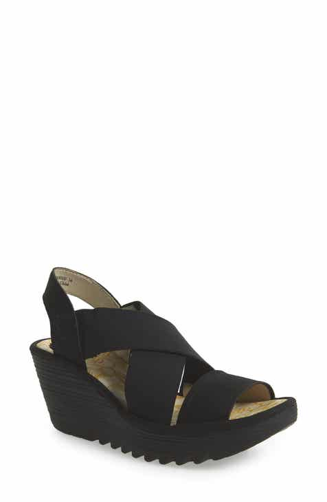 e87ffad8ce2 Fly London Yaji Cross Wedge Sandal (Women)