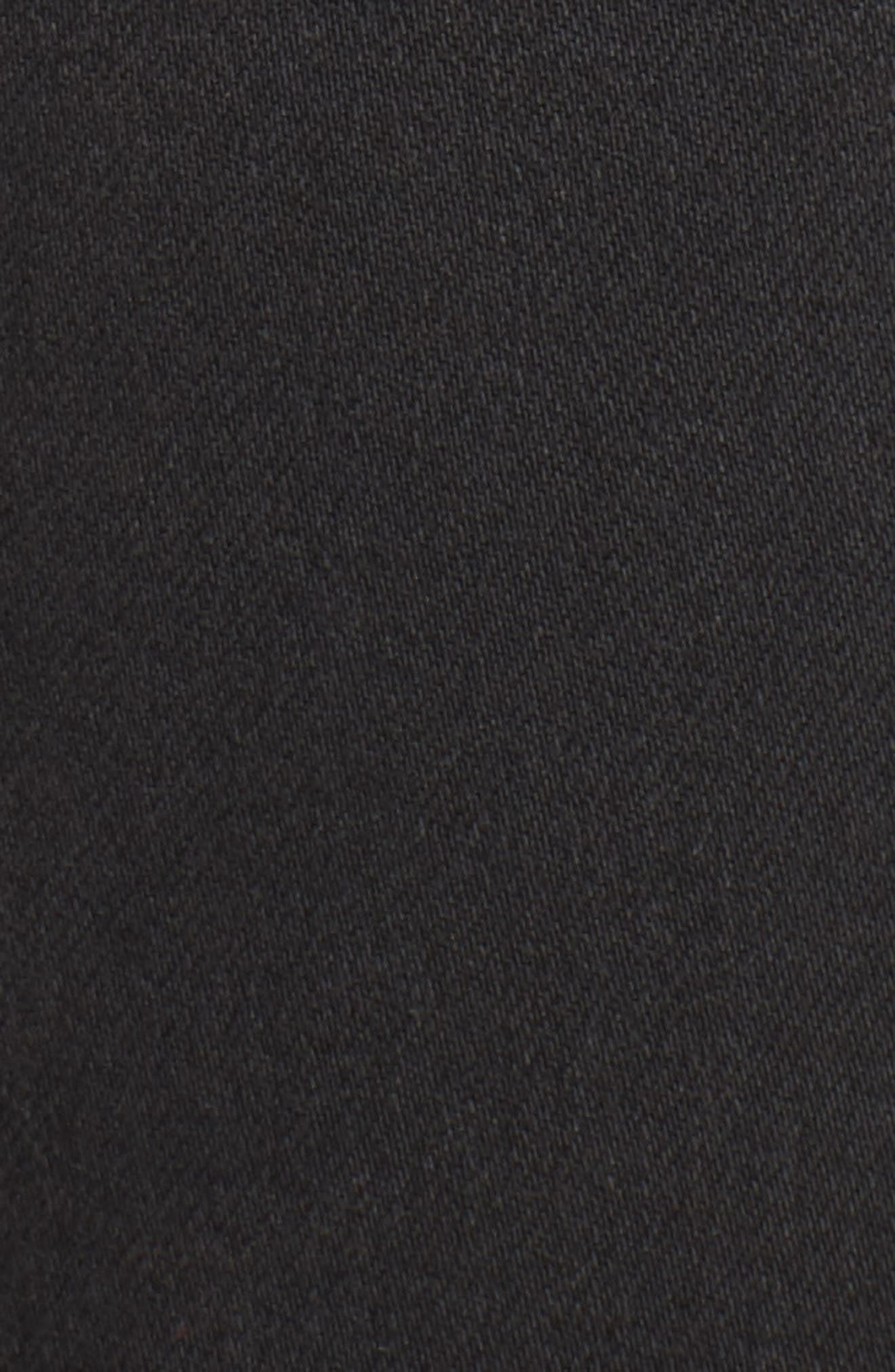 Charlie Velvet Stripe Ankle Skinny Jeans,                             Alternate thumbnail 6, color,                             Ashley