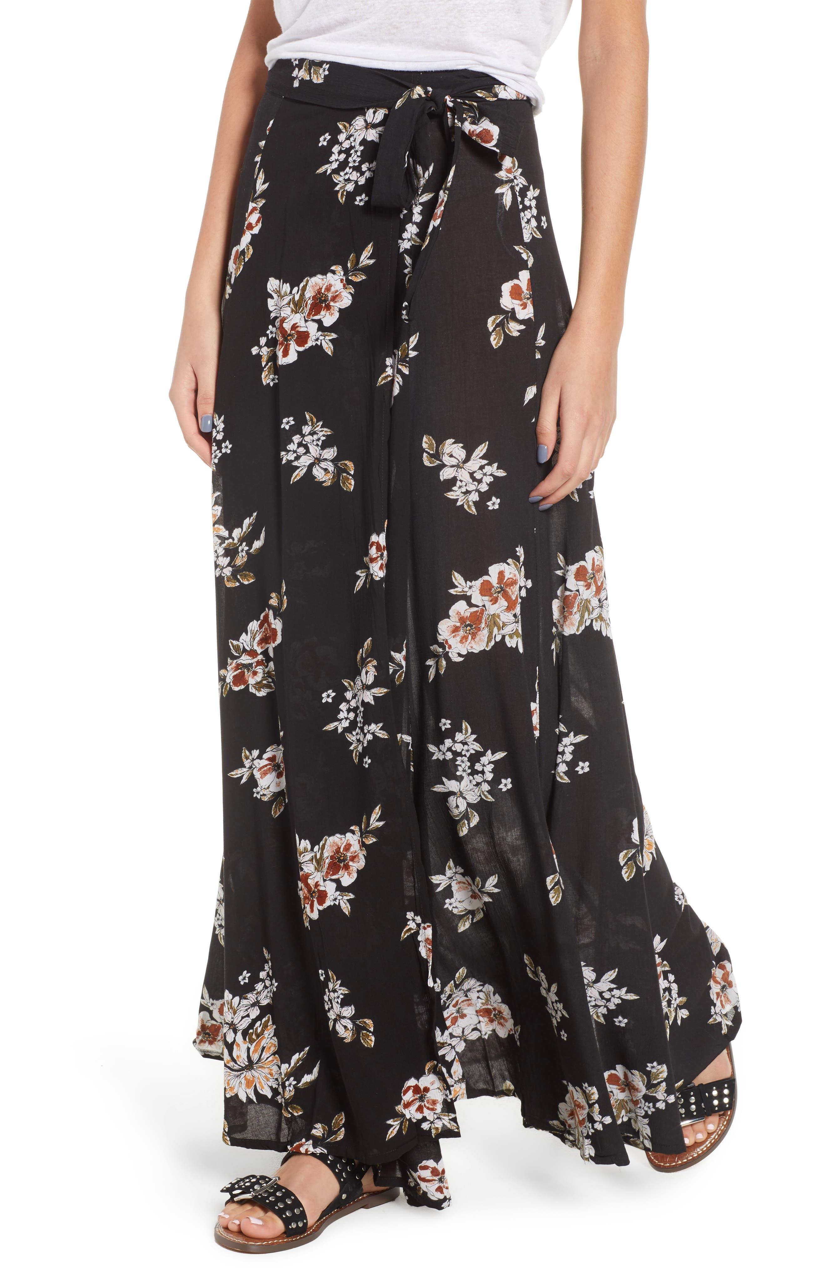 FAITHFULL THE BRAND Terviso Floral Print Maxi Skirt