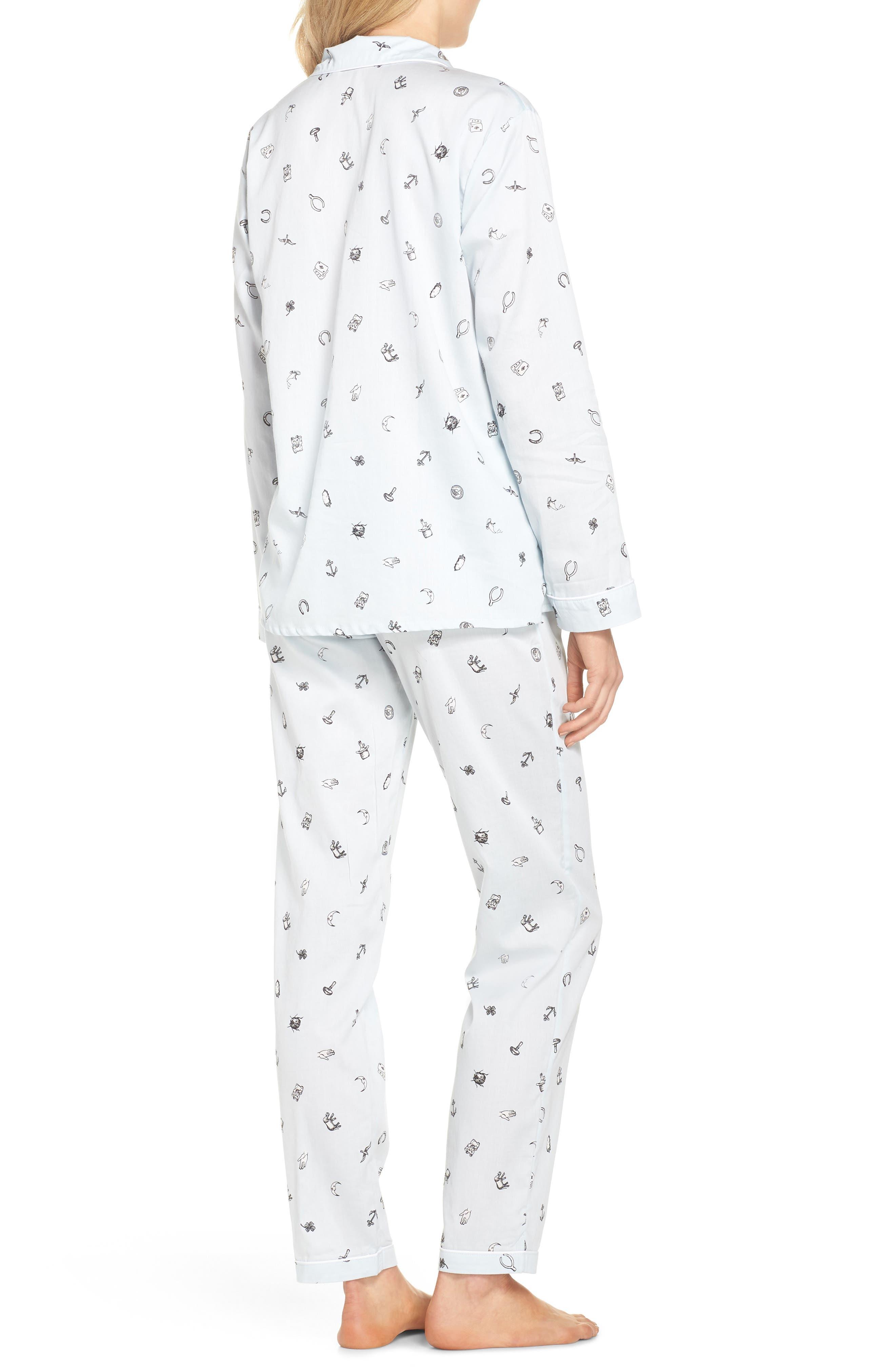 Charms Pajamas,                             Alternate thumbnail 2, color,                             Charms Lt Blue