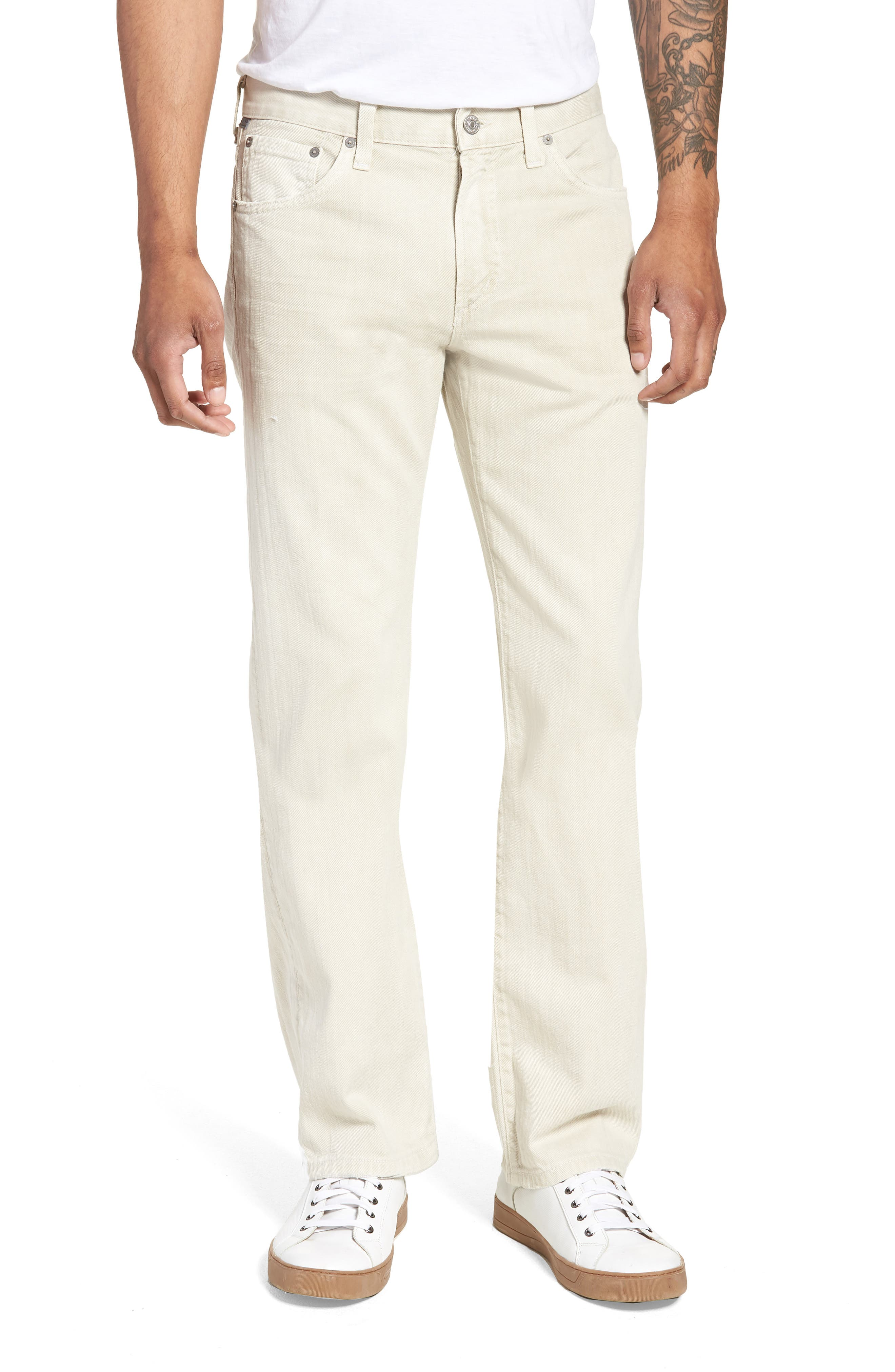 Sid Straight Fit Jeans,                         Main,                         color, Fort