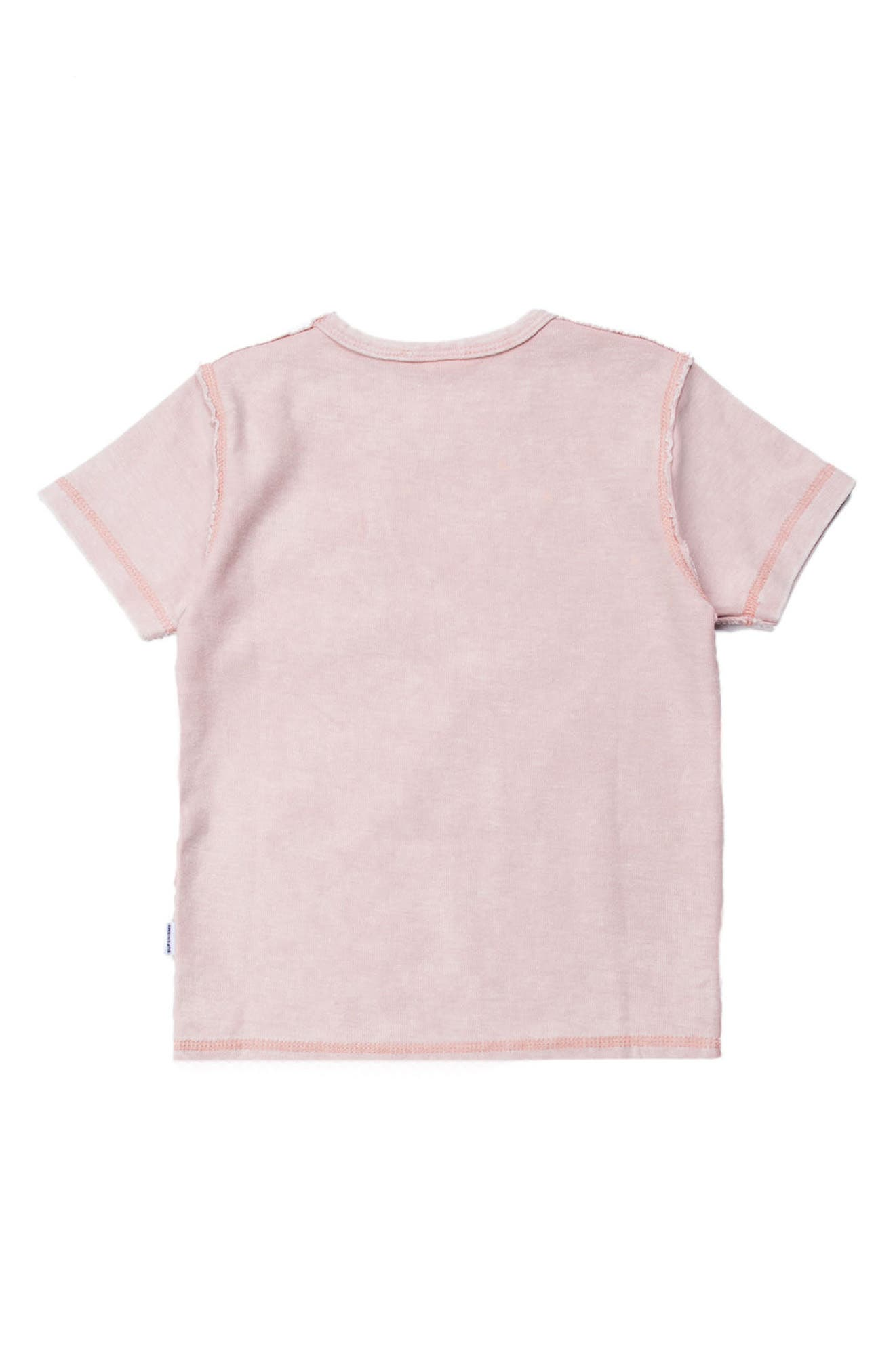 Emery Pocket T-Shirt,                             Alternate thumbnail 2, color,                             Pink