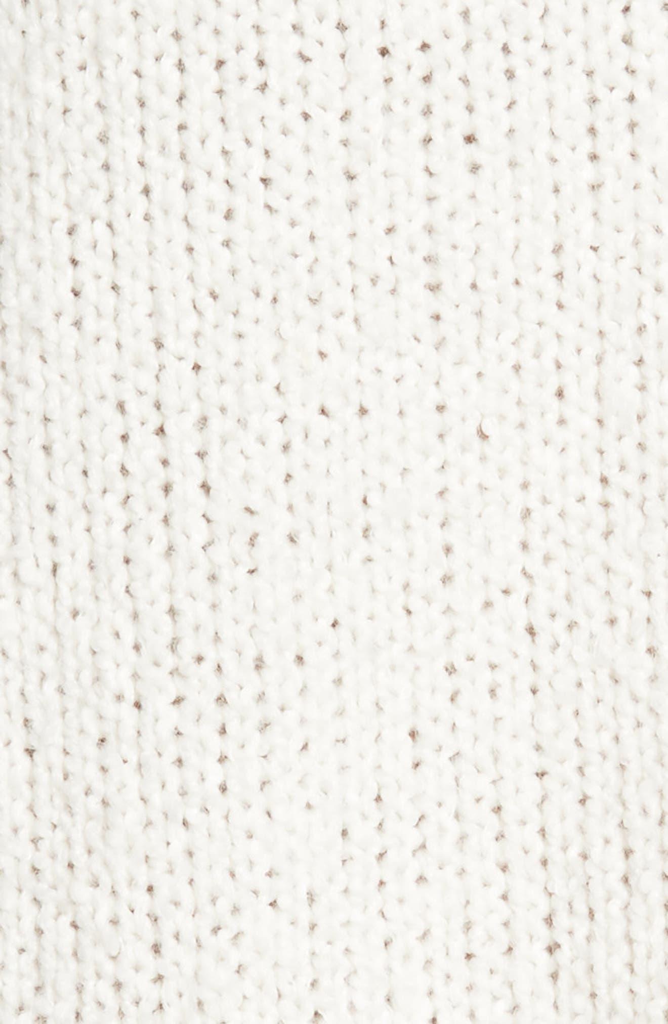Balloon Sleeve Sweater,                             Alternate thumbnail 6, color,                             Ivory