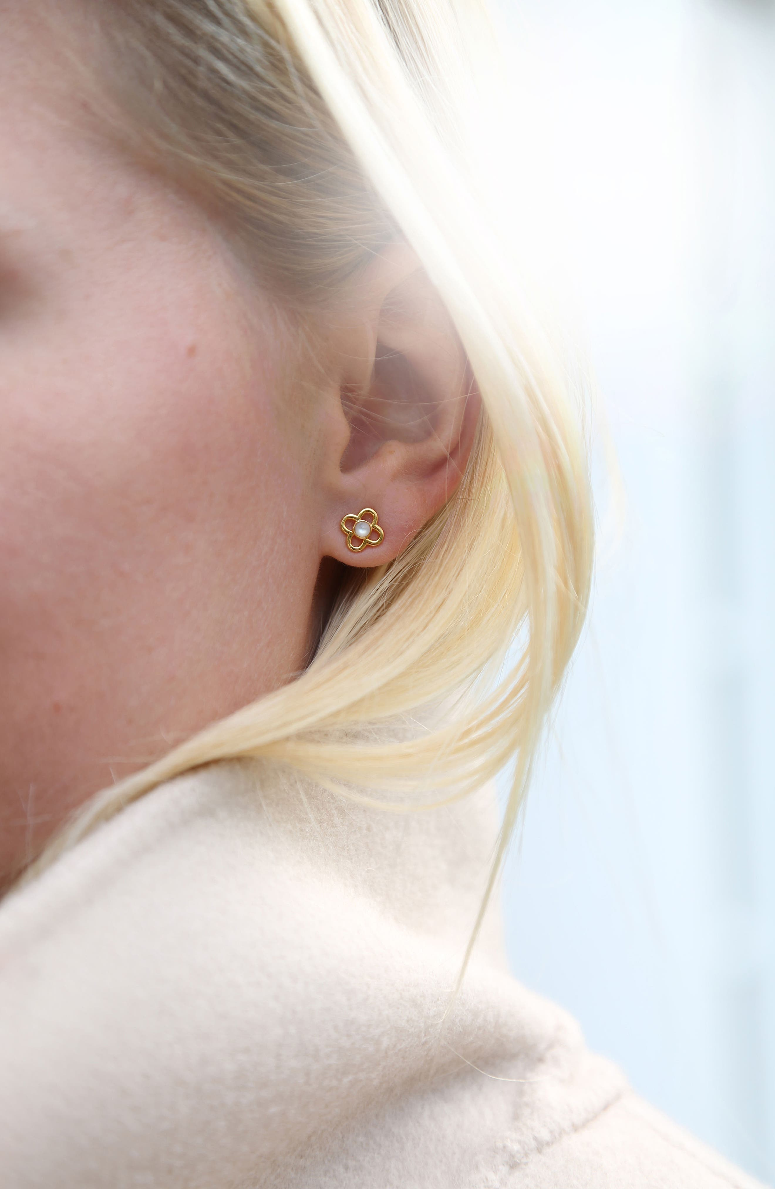 Petite Paloma Stud Earrings,                             Alternate thumbnail 2, color,