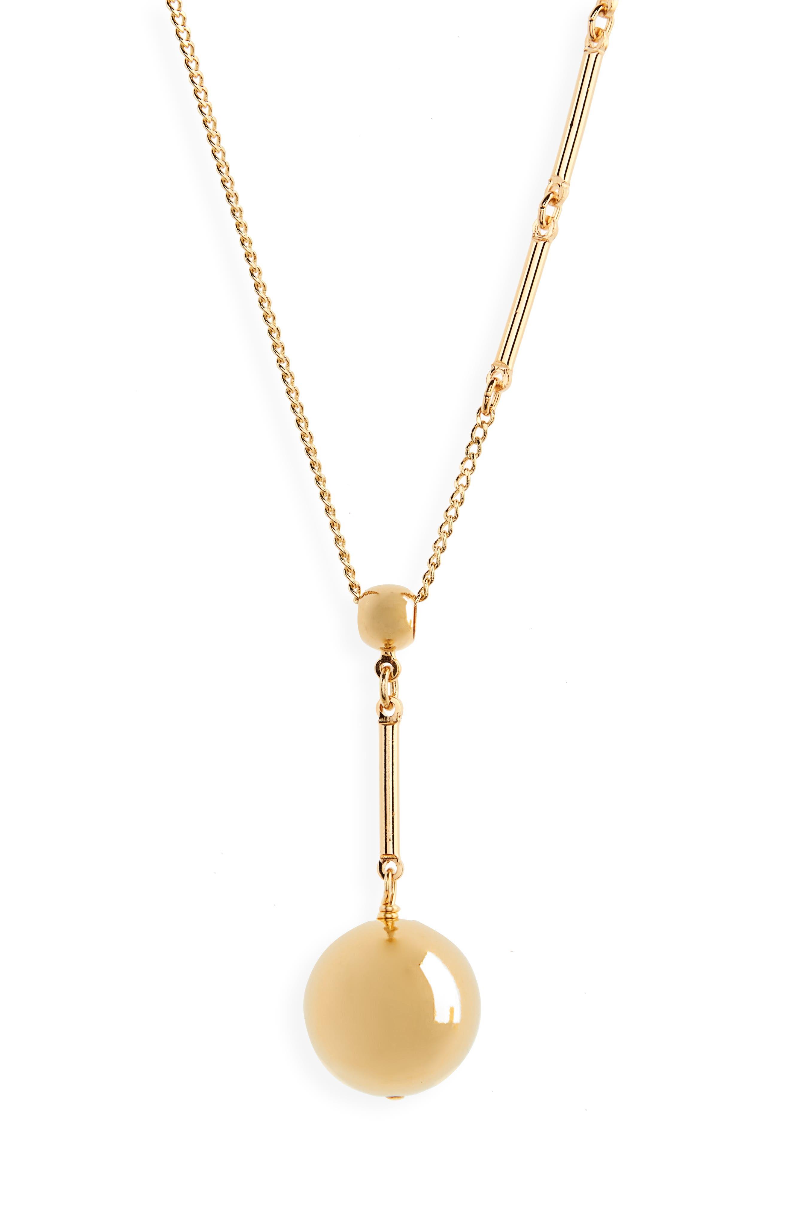 Tempo Pendant Necklace,                             Alternate thumbnail 2, color,                             Gold