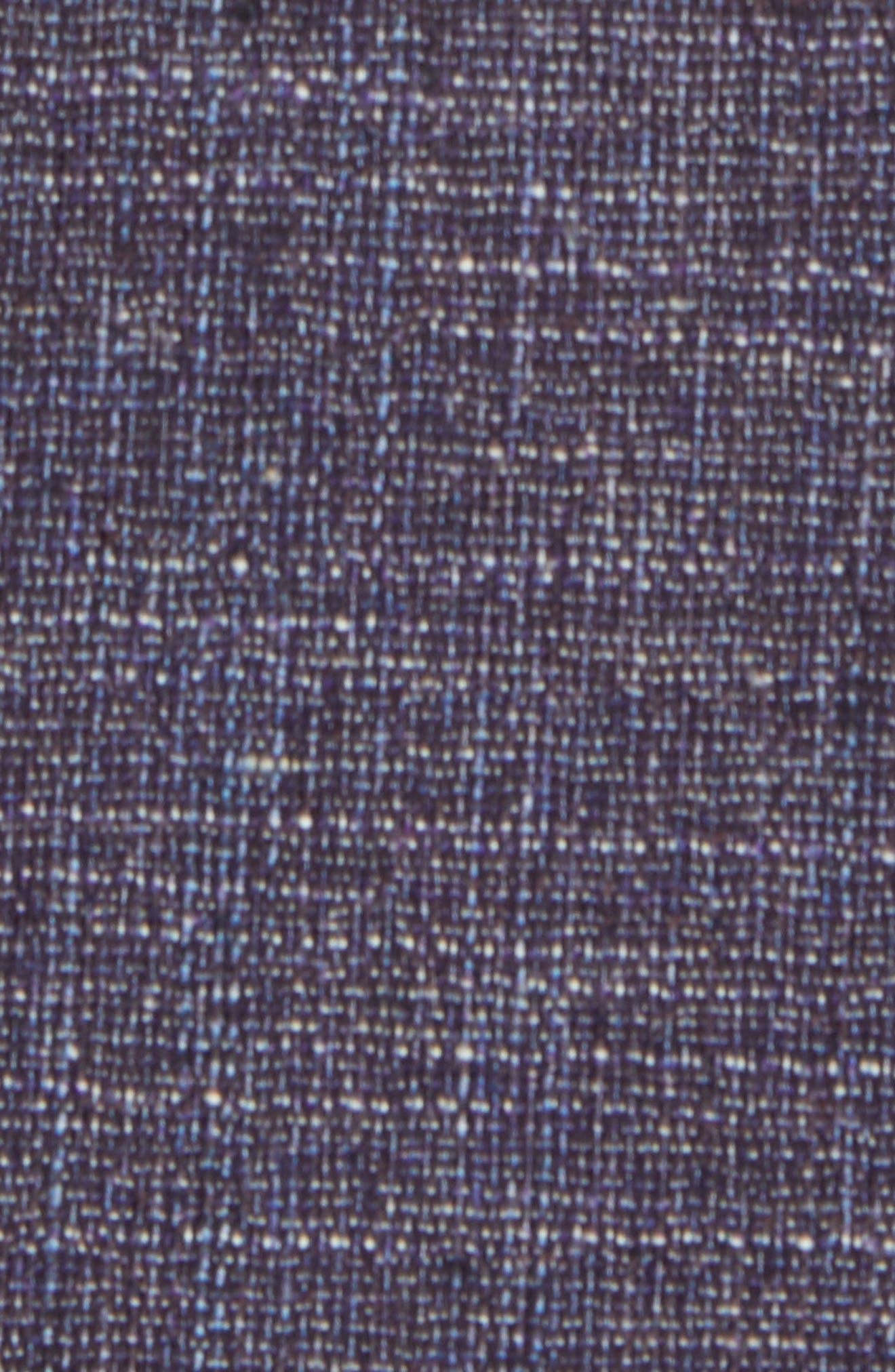 Jay Trim Fit Slubbed Wool, Cotton & Linen Sport Coat,                             Alternate thumbnail 5, color,                             Plum